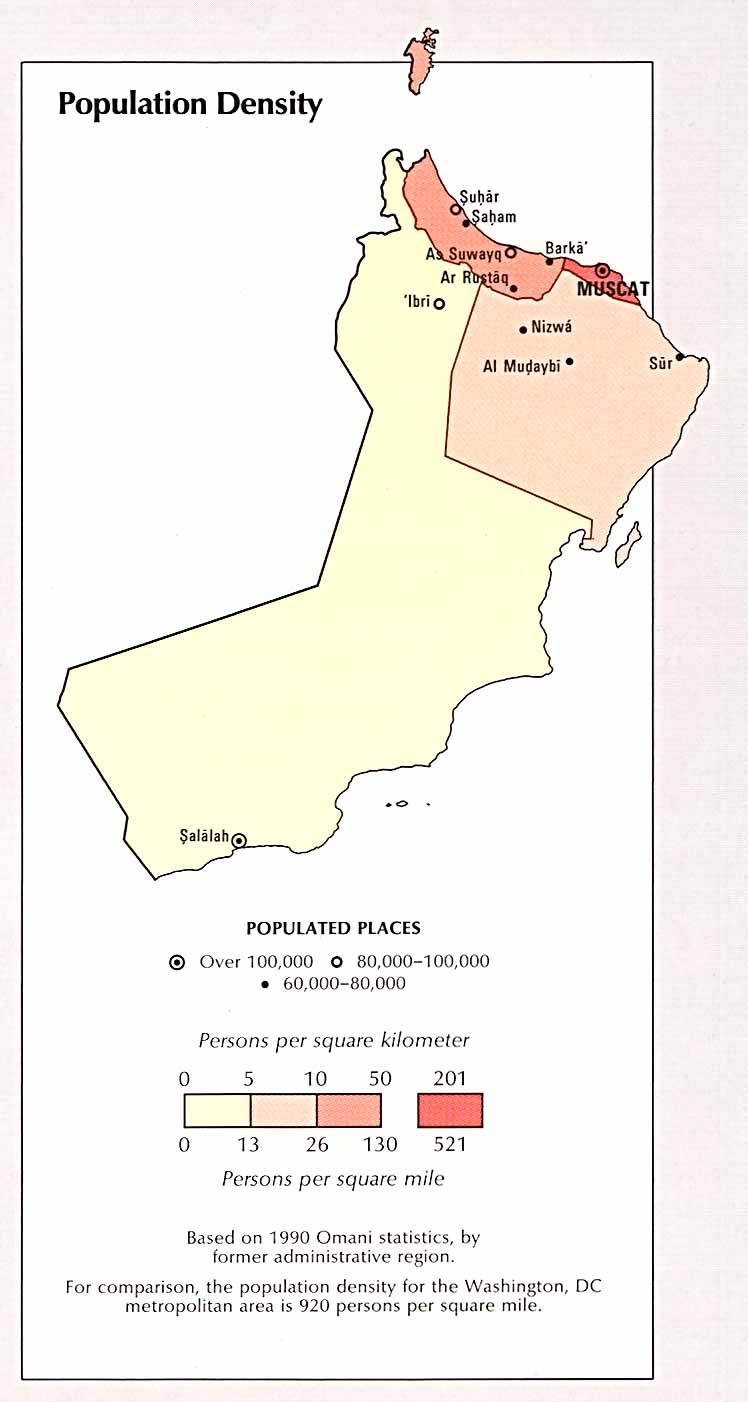 Oman Maps - Perry-Castañeda Map Collection - UT Library Online
