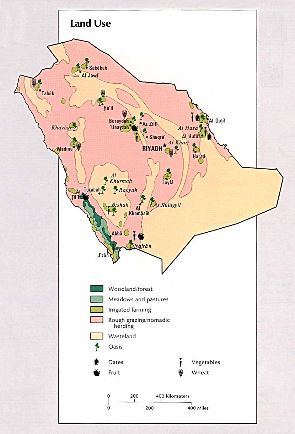 Main Natural Resources Of Saudi Arabia