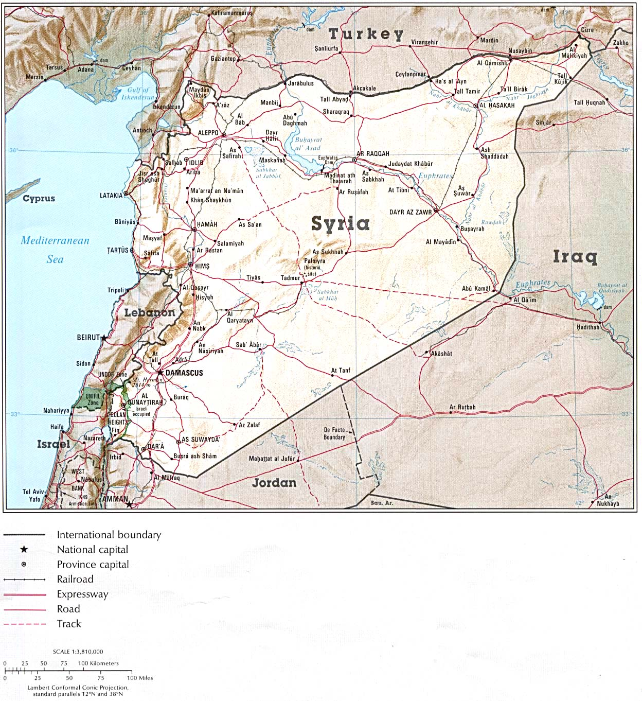 Syria Maps PerryCastaeda Map Collection UT Library Online