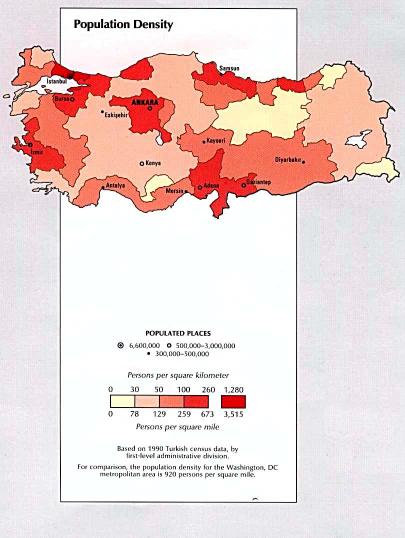 Turkey In Maps A Link Atlas
