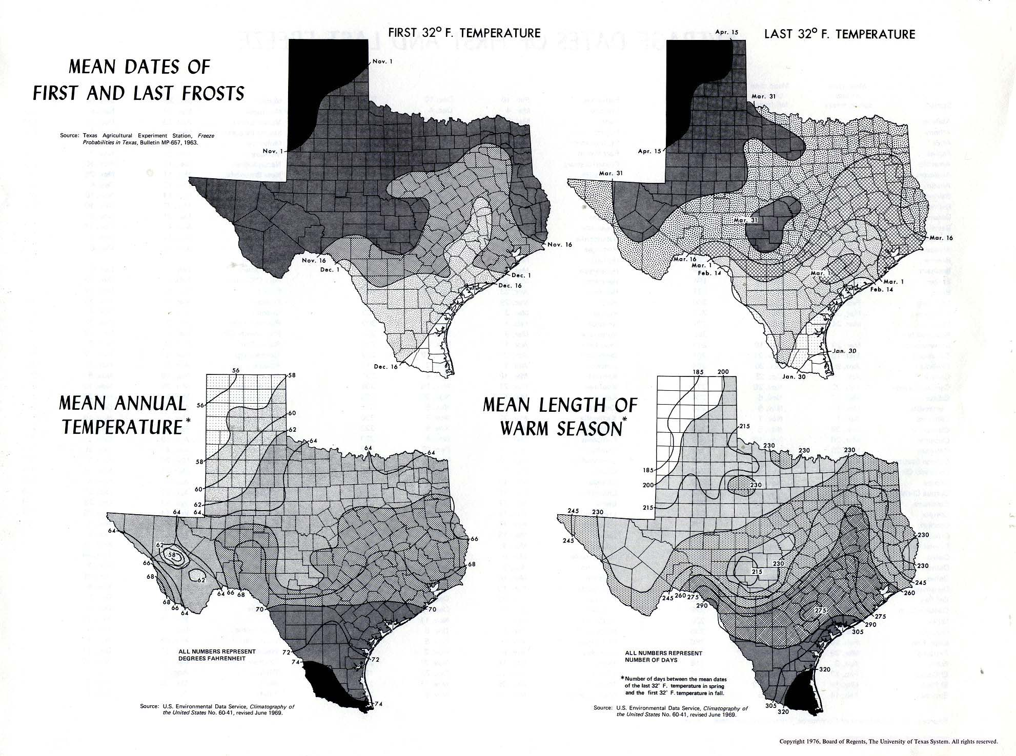 Texas Average Temperature Map | Business Ideas 2013