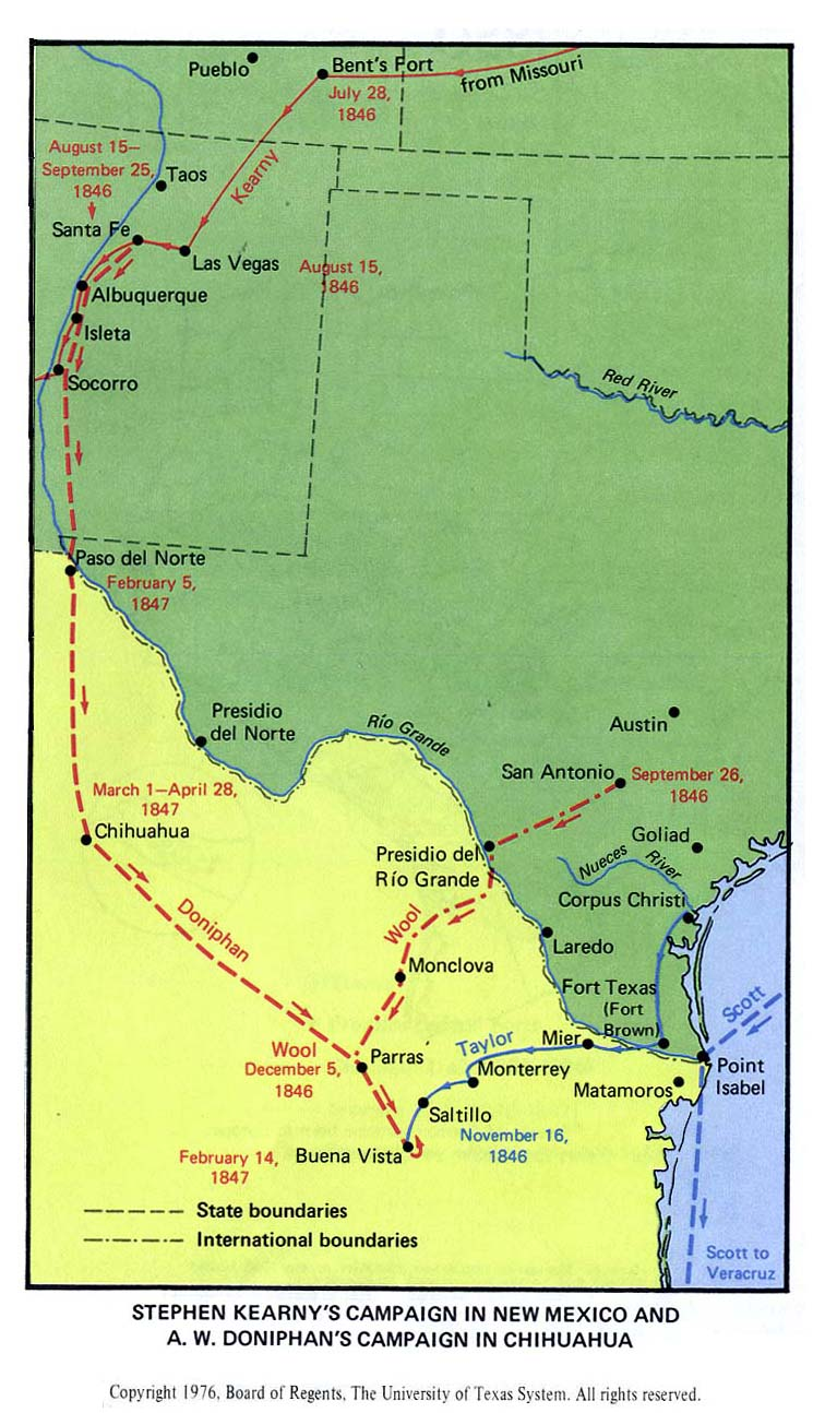 Texas Historical Maps PerryCastañeda Map Collection UT - A map of texas
