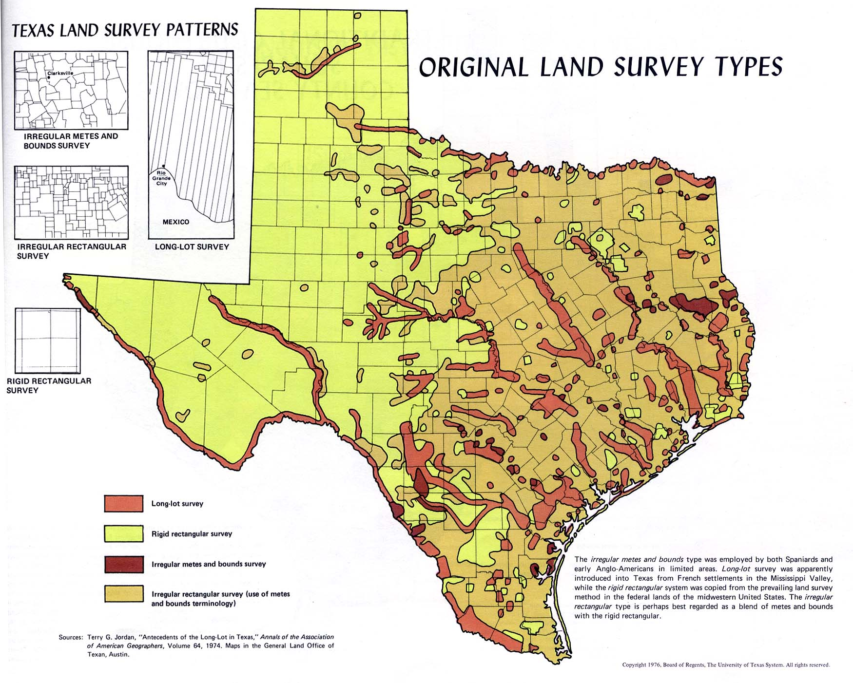 Texas Land Survey Maps