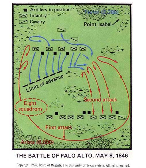The Battle Of Palo Alto May 8 1846