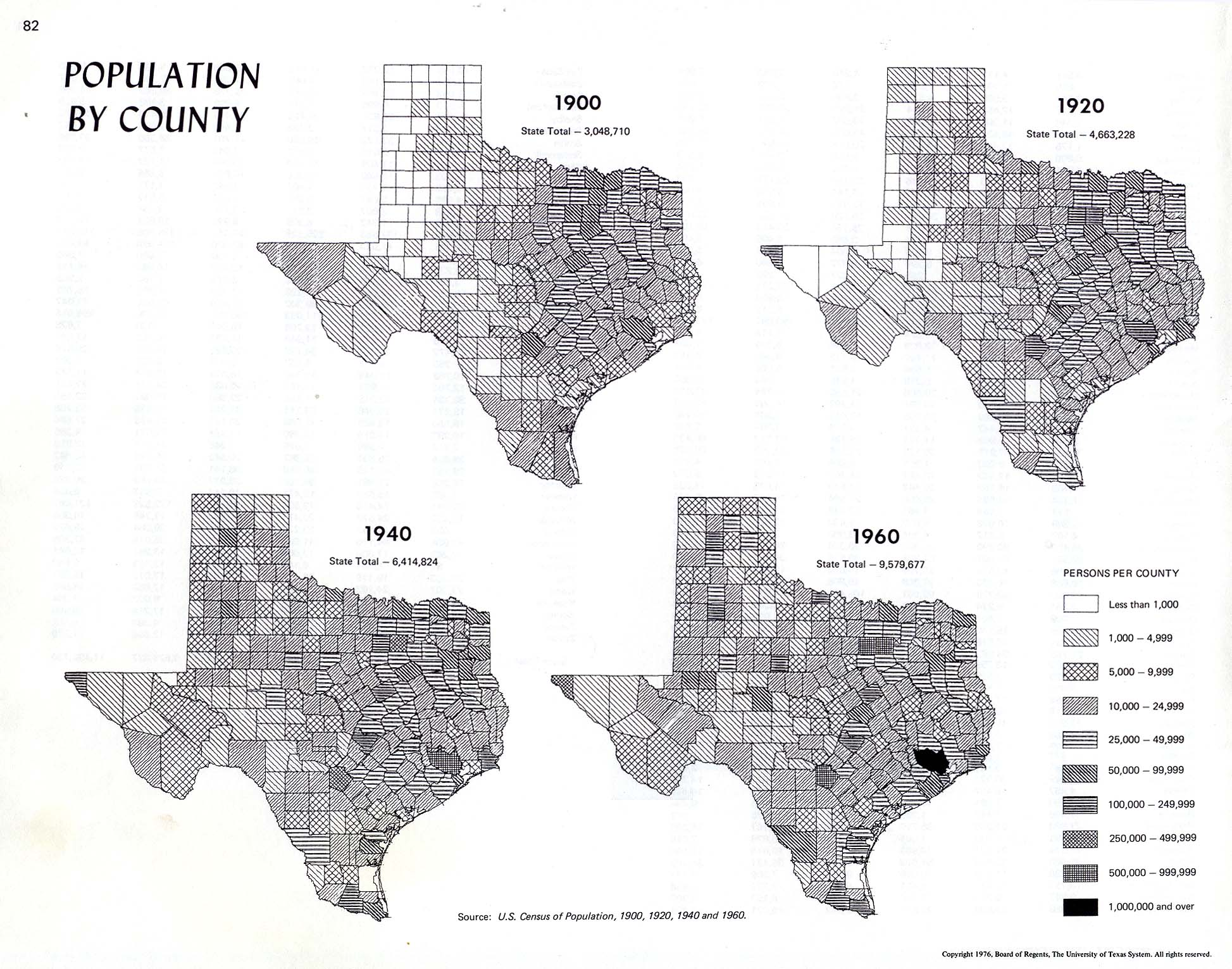 Atlas of Texas Perry Casta eda Map Collection UT Library Online