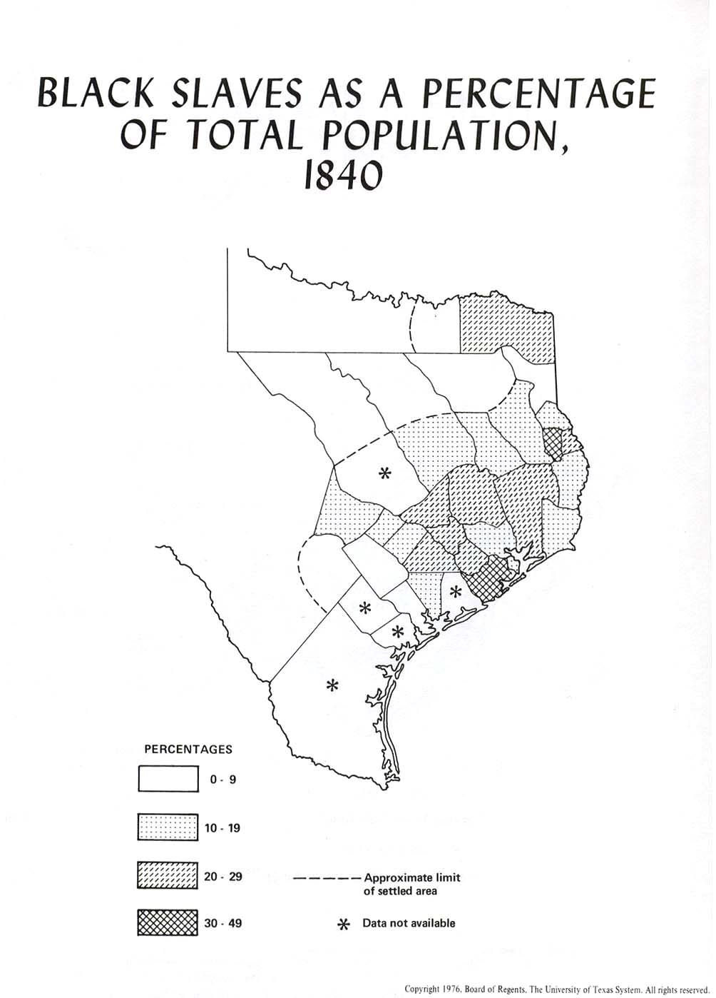 Map Of Texas Early 1800s.Texas Historical Maps Perry Castaneda Map Collection Ut