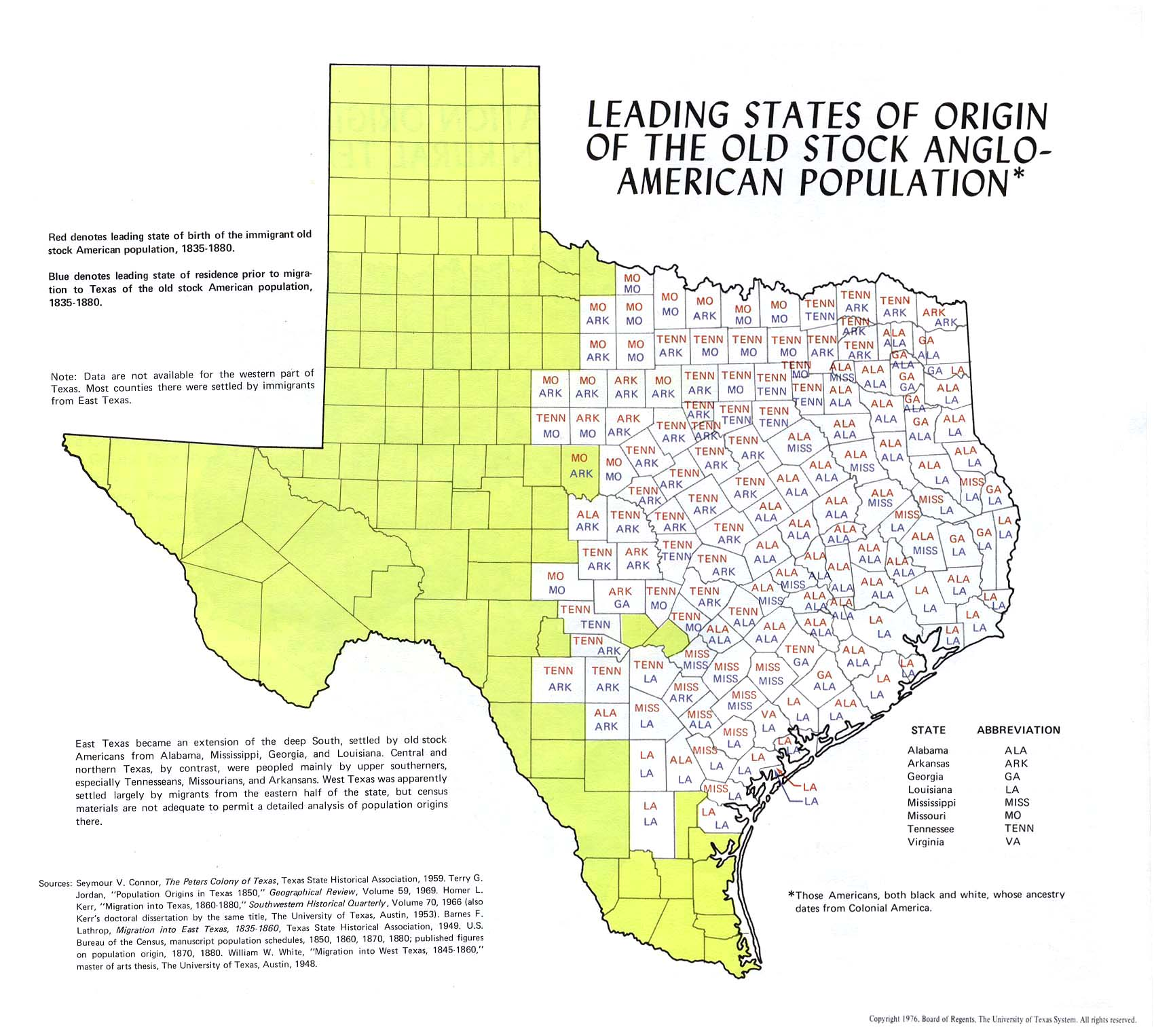 Texas Historical Maps PerryCastañeda Map Collection UT - Map of west texas