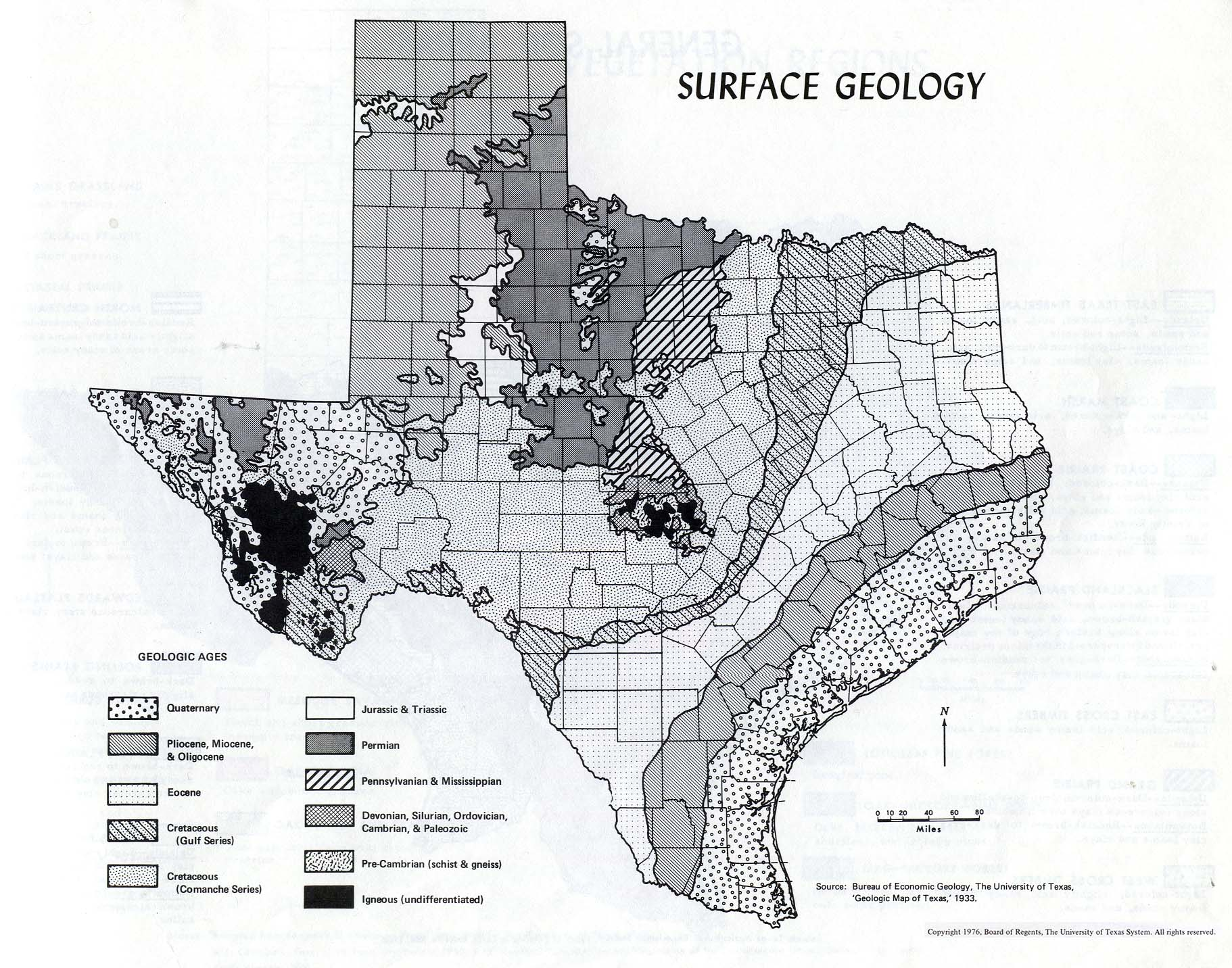 Edwards plateau ecology physical environment for Soil and geology