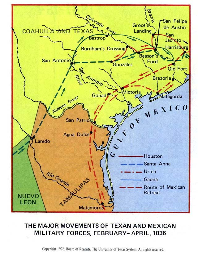 Texas Historical Maps Perrycastañeda Map Collection Ut: Texas And Mexico War Map At Usa Maps