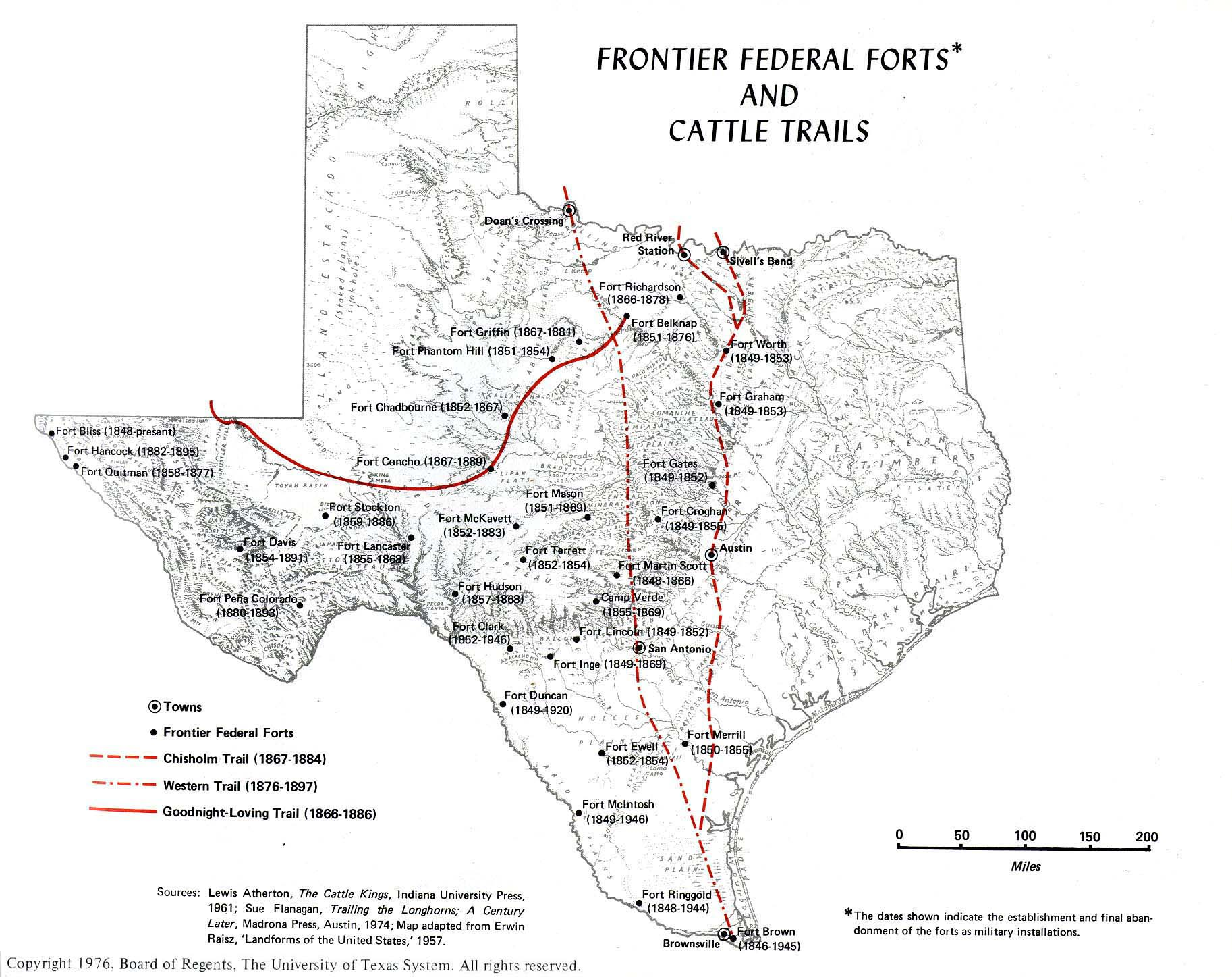 Texas Historical Maps PerryCastaeda Map Collection UT Library