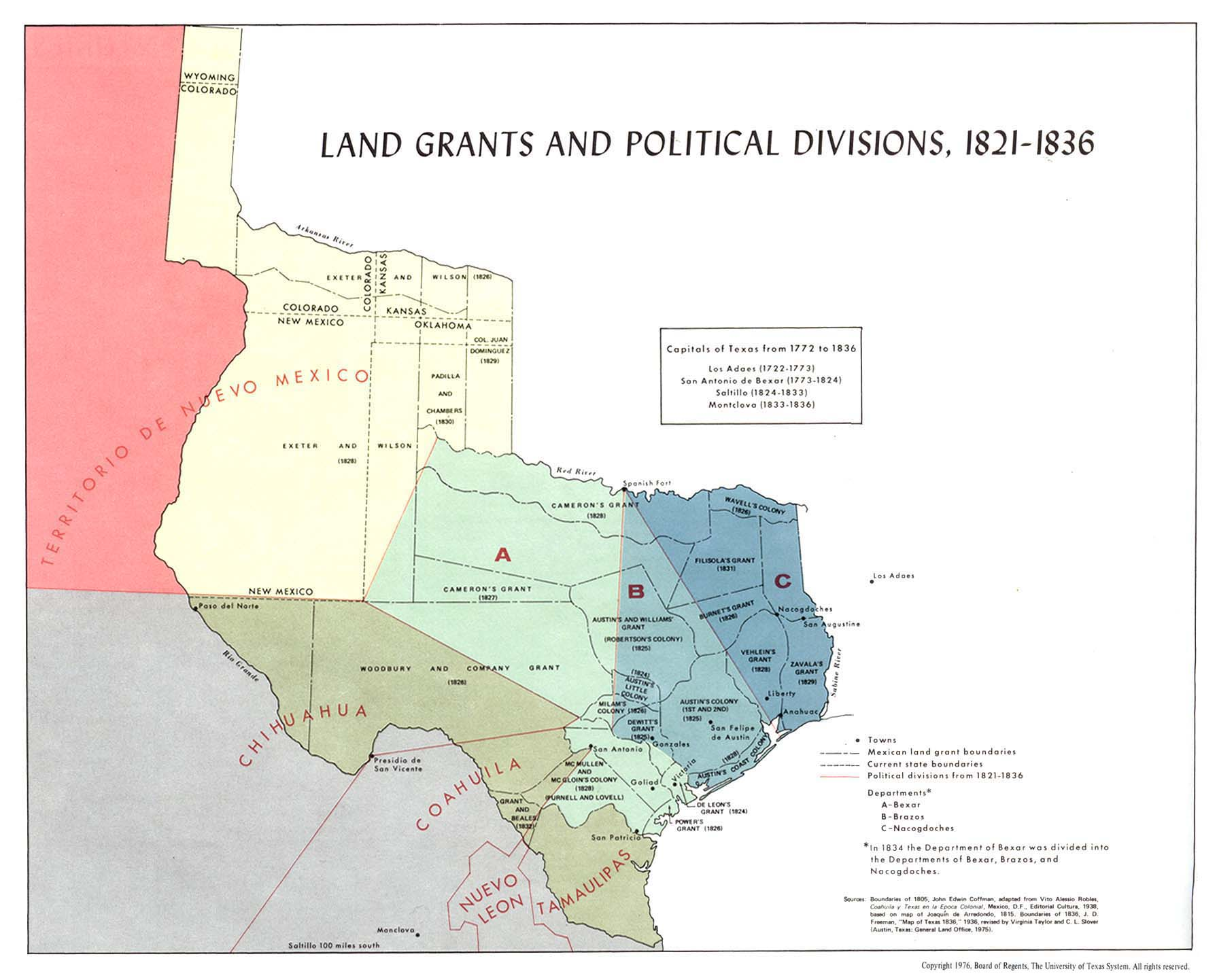 Texas Historical Maps - Perry-Castañeda Map Collection - UT Library ...