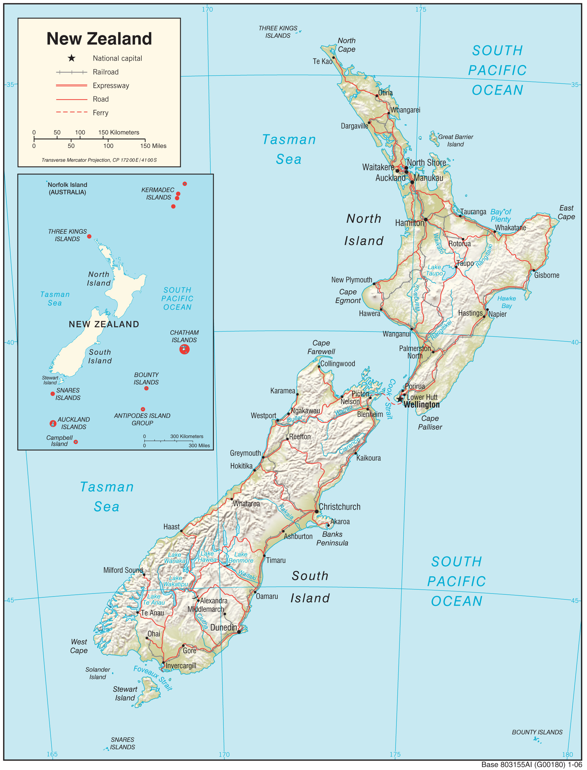 New Zealand Maps New Zealand Maps   Perry Castañeda Map Collection   UT Library Online New Zealand Maps