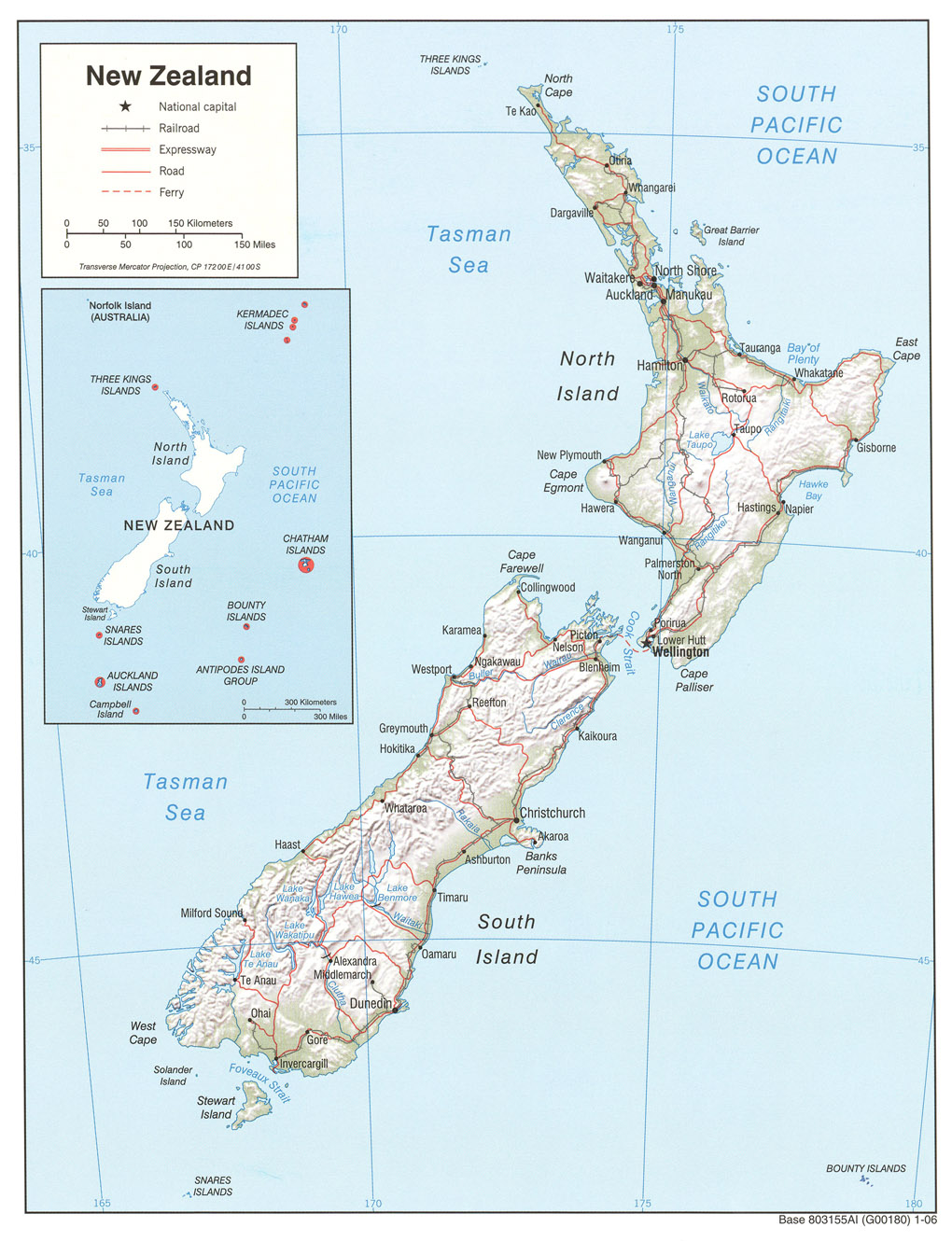 New Zealand Mountains Map.New Zealand Maps Perry Castaneda Map Collection Ut Library Online