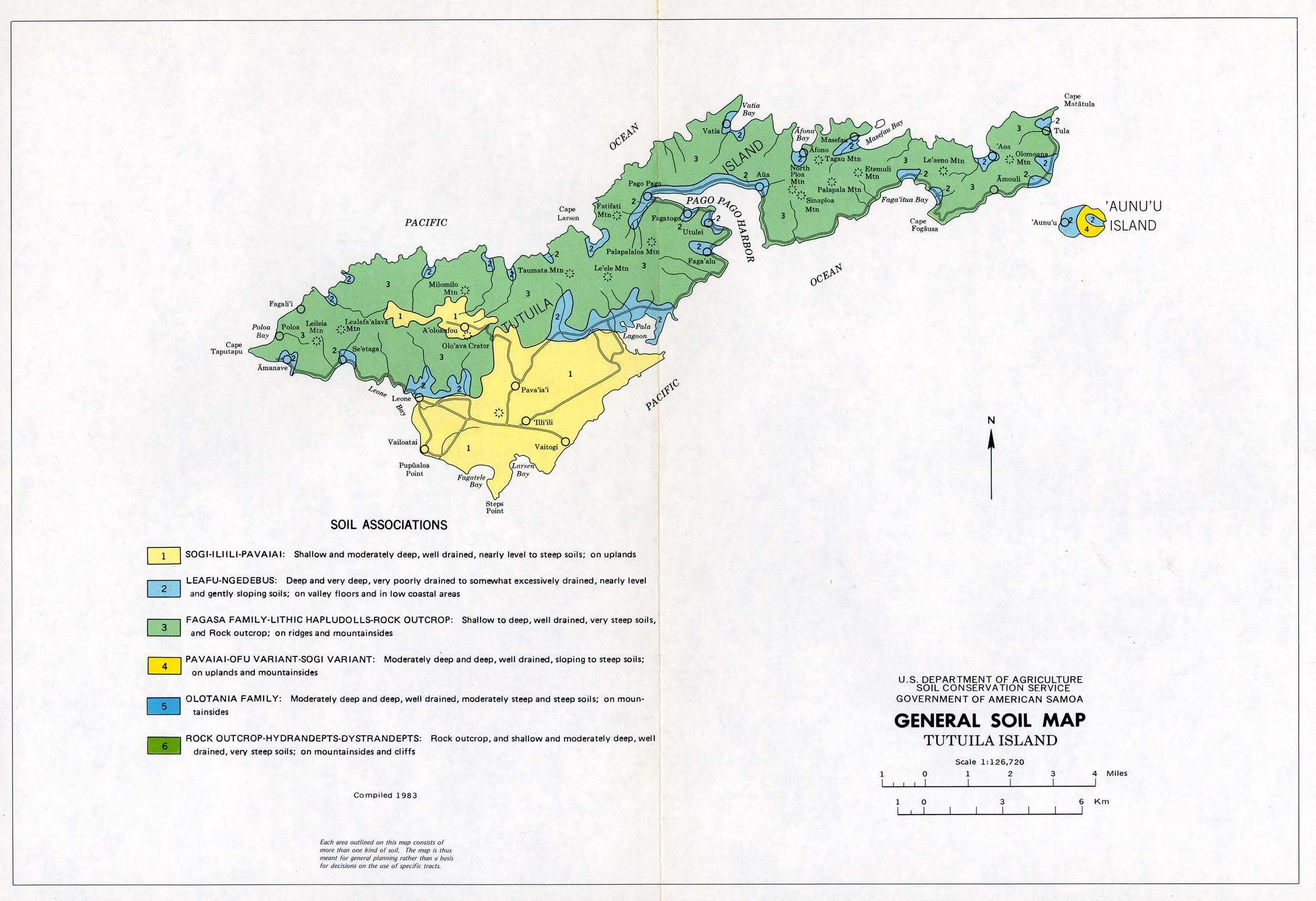 American samoa maps perry casta eda map collection ut for American soil