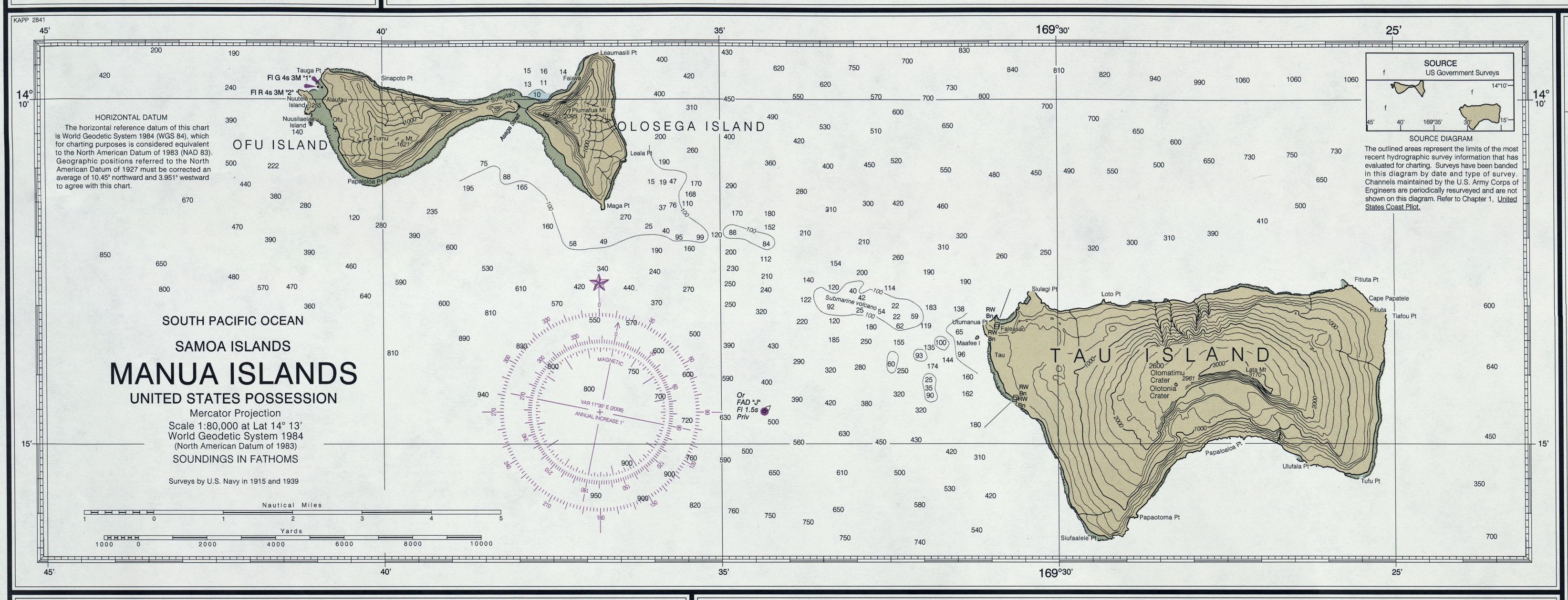 american samoa maps - perry-casta u00f1eda map collection