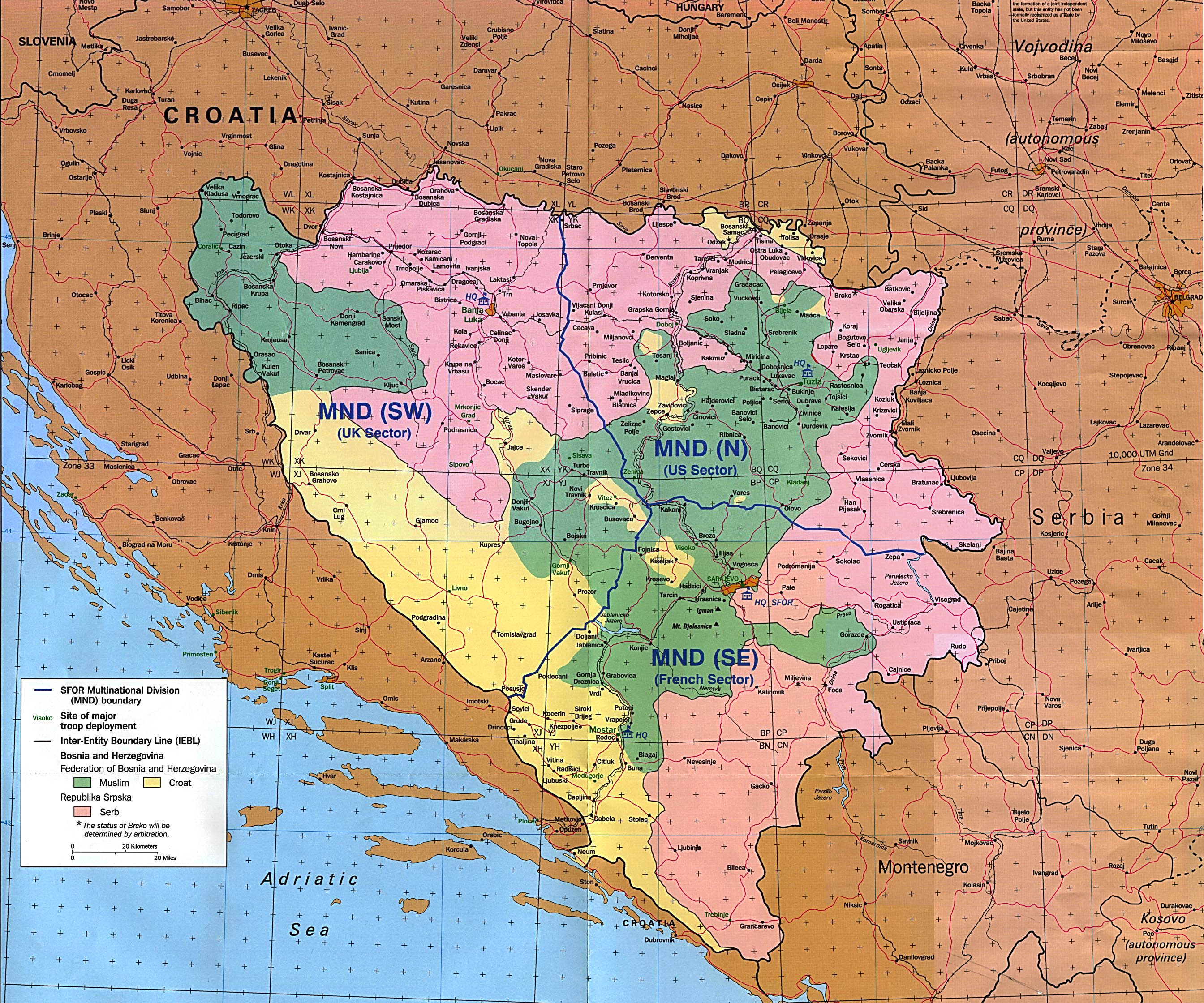 Bosnia Maps - Perry-Castañeda Map Collection - UT Liry Online on map of macedonia, map of san marino, map of albania, map of croatia, map of serbia, map of yugoslavia, map of bosnia and surrounding countries, republic of macedonia, map of sarajevo, map of turkey, map of malta, map of slovenia, bosnian war, republic of ireland, map of europe, map of eritrea, map of india, republika srpska, map of bulgaria, srebrenica massacre, map of kosovo, map of hungary, map of montenegro, map of czech republic,
