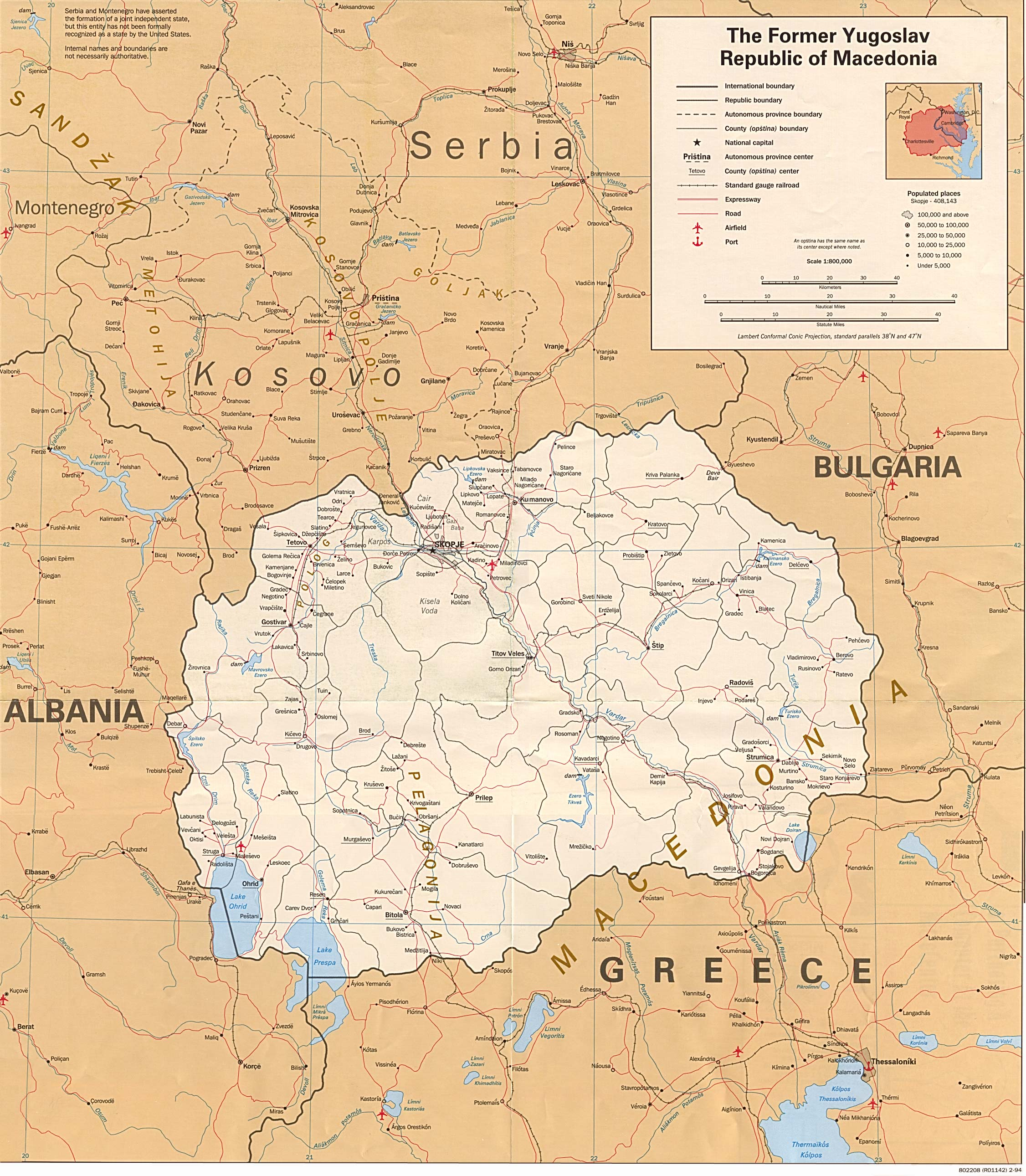 Macedonia maps perry castaeda map collection ut library online macedonia maps publicscrutiny Gallery