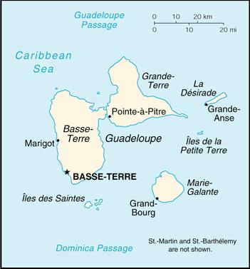 Steden dorpen for Chambre de commerce guadeloupe