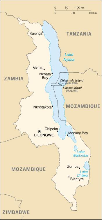 Who Malawi Maps