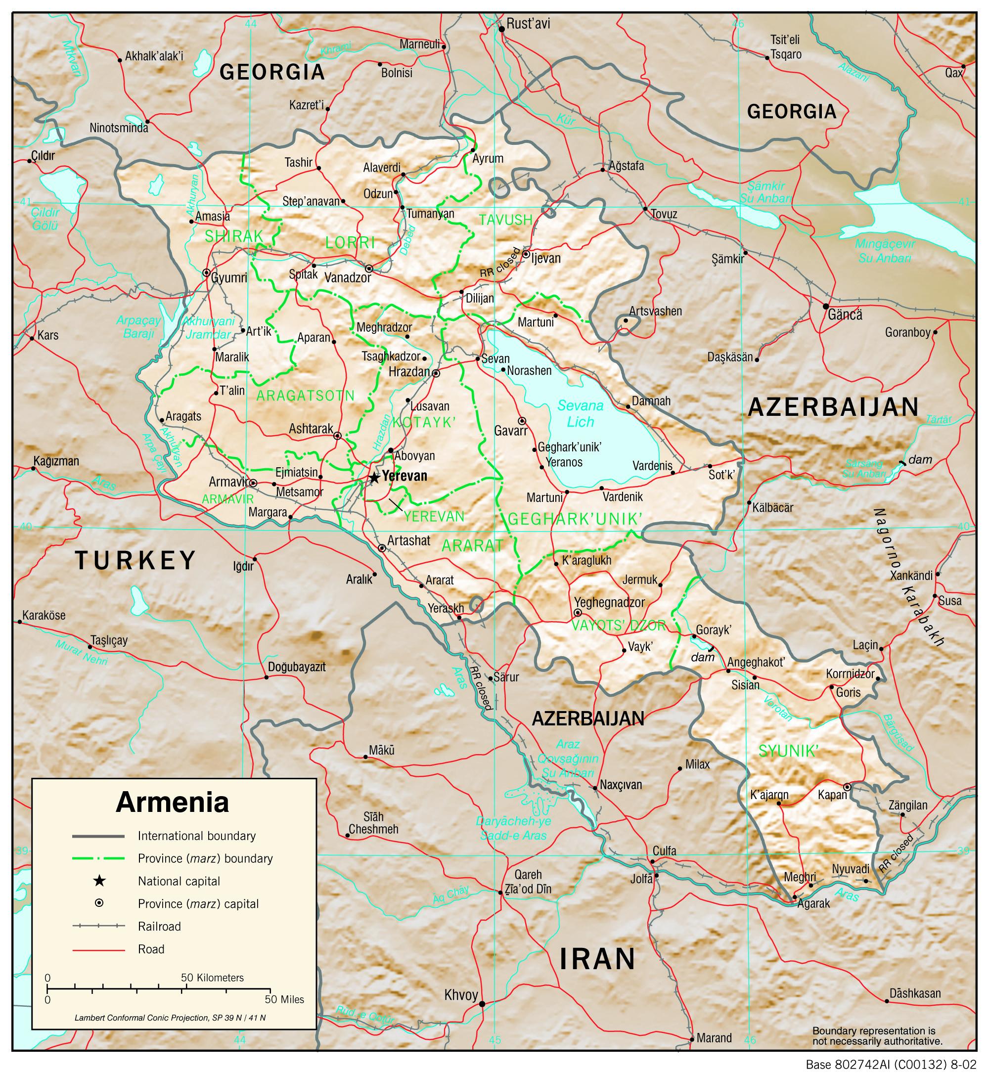 Yerevan Map Pdf