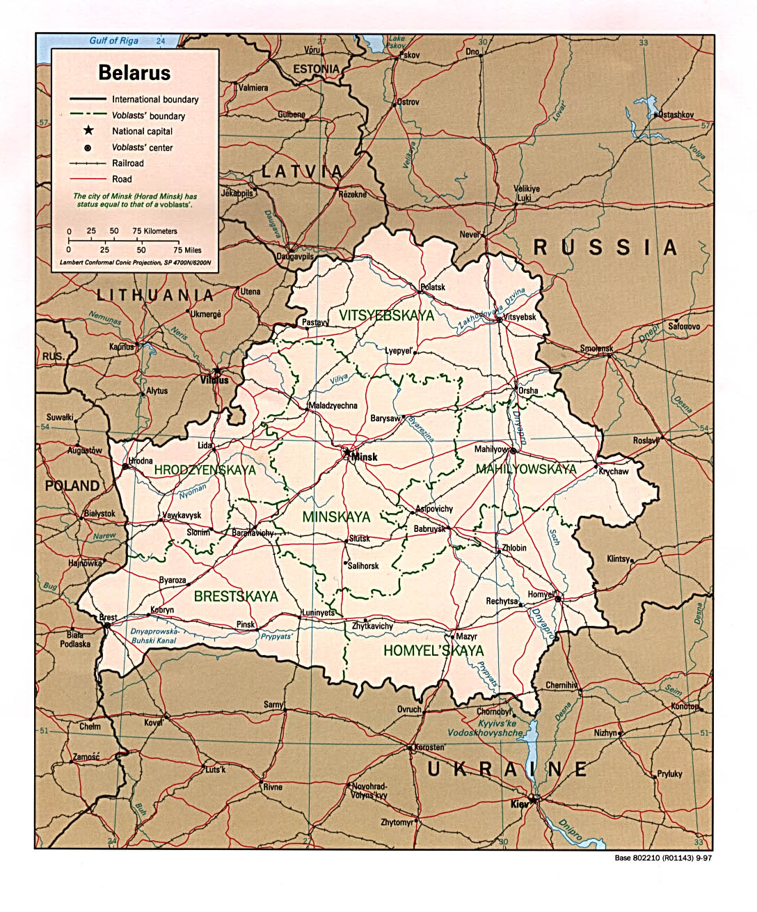 Maps of belarus sciox Images