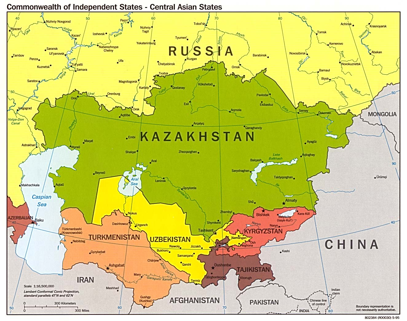 Russia And The Former Soviet Republics Maps Perry Castaneda Map
