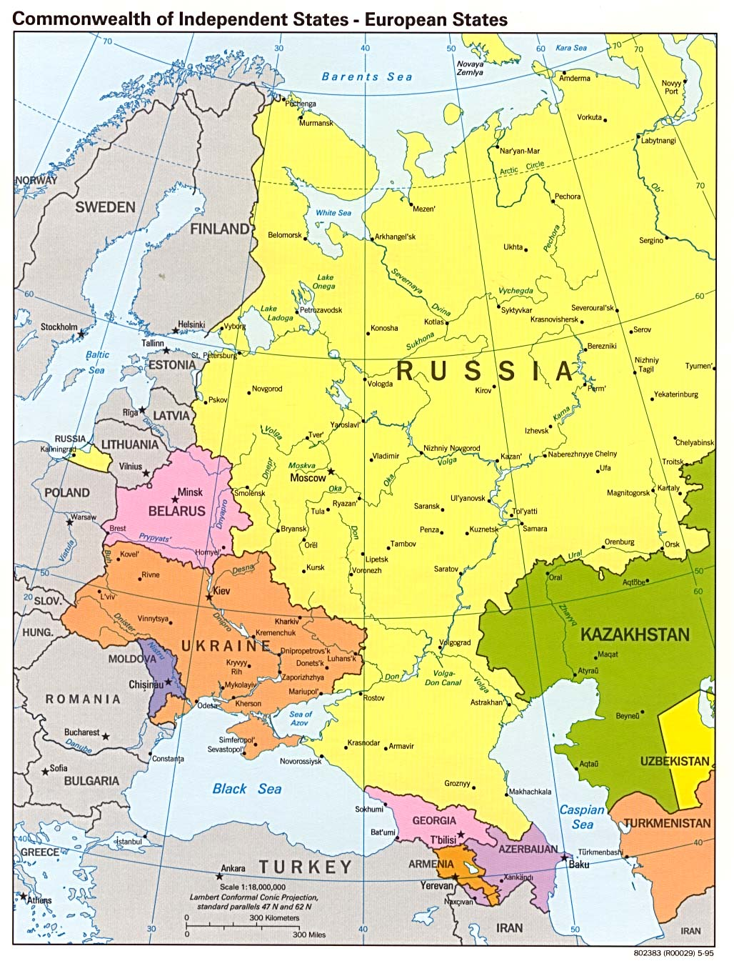 Europe Map Russia | europeancytokinesociety