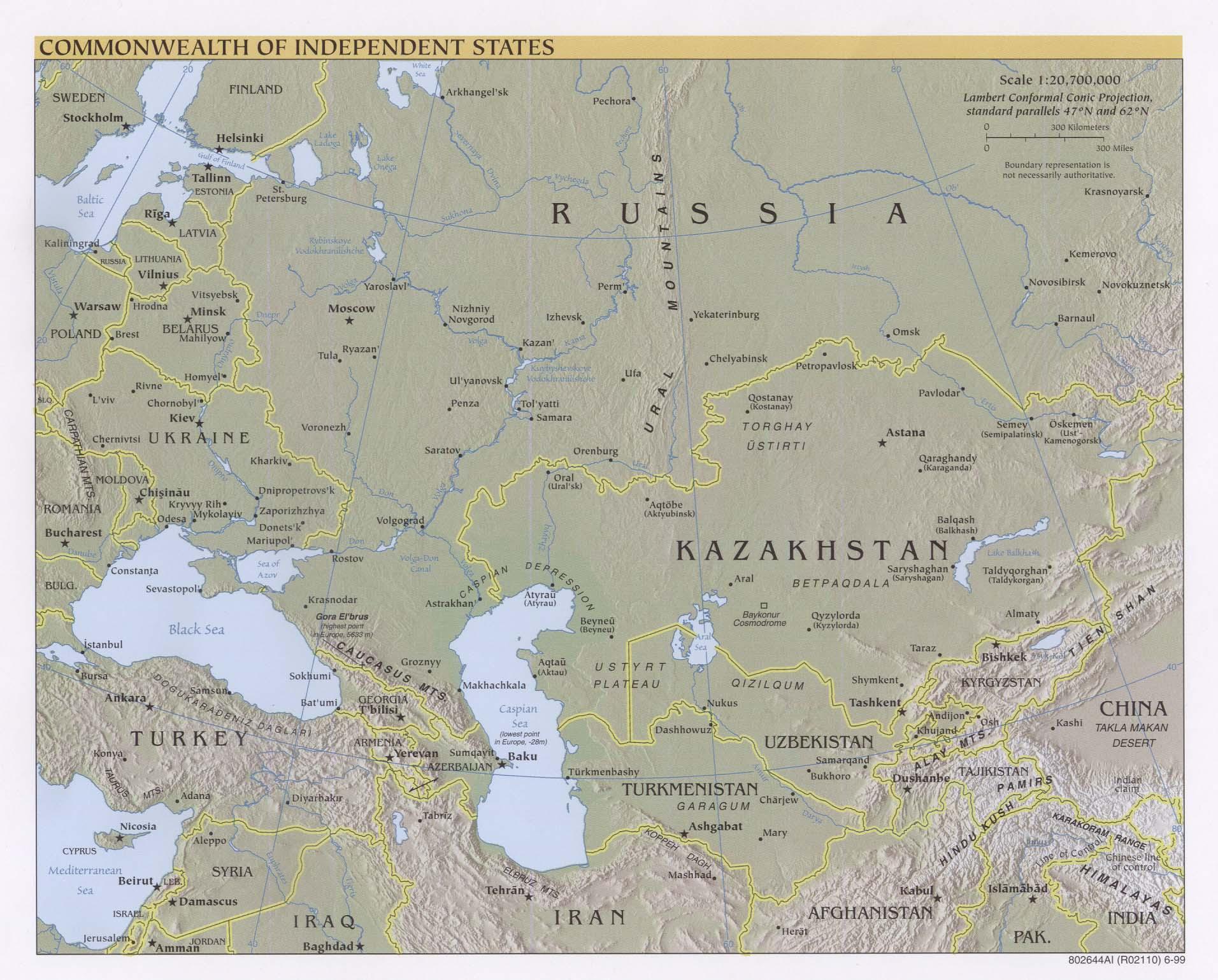 Landkarte Russland Landkarten Archiv Kontinent Asien Download