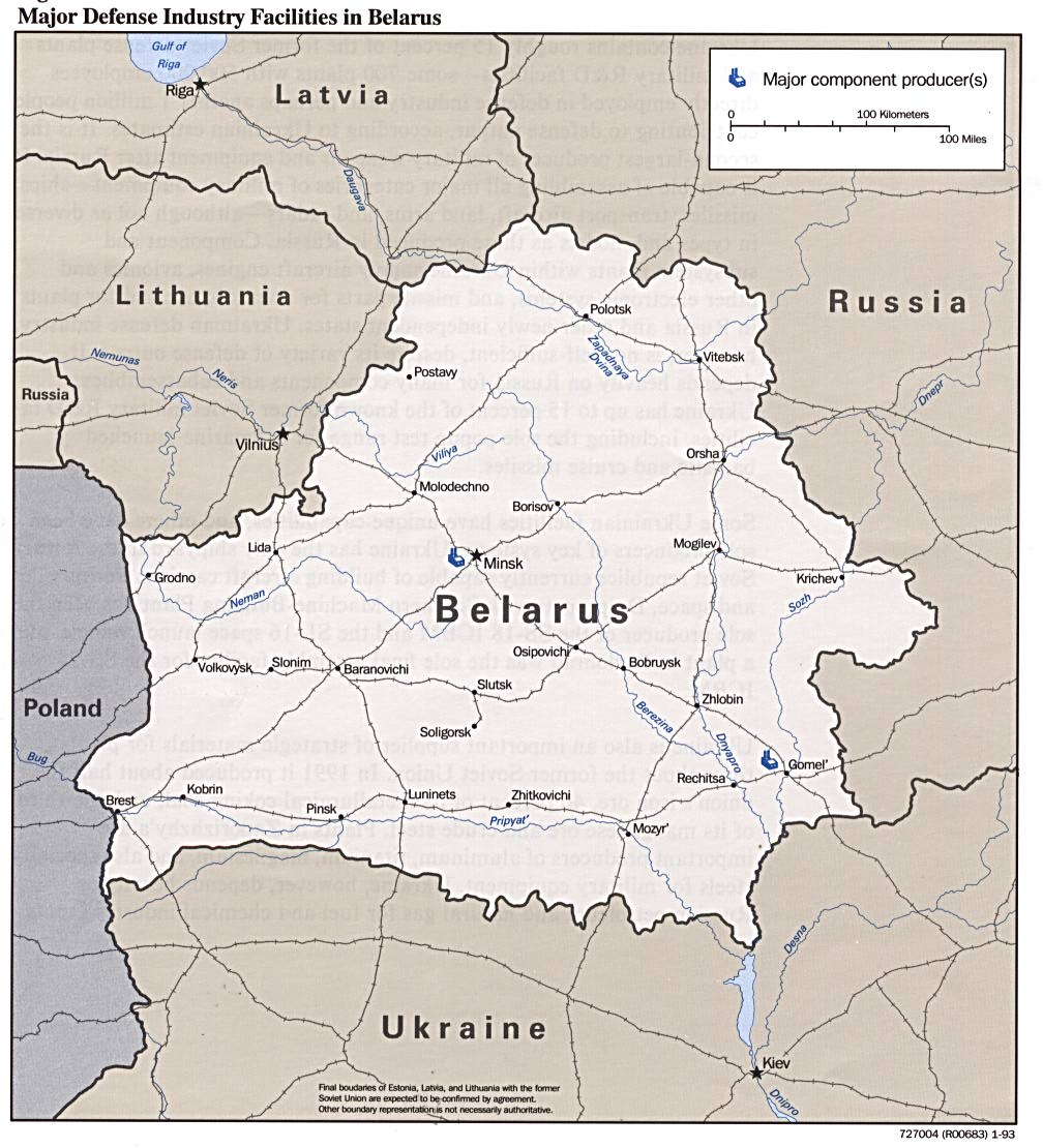 Belarus Maps PerryCastaeda Map Collection UT Library Online
