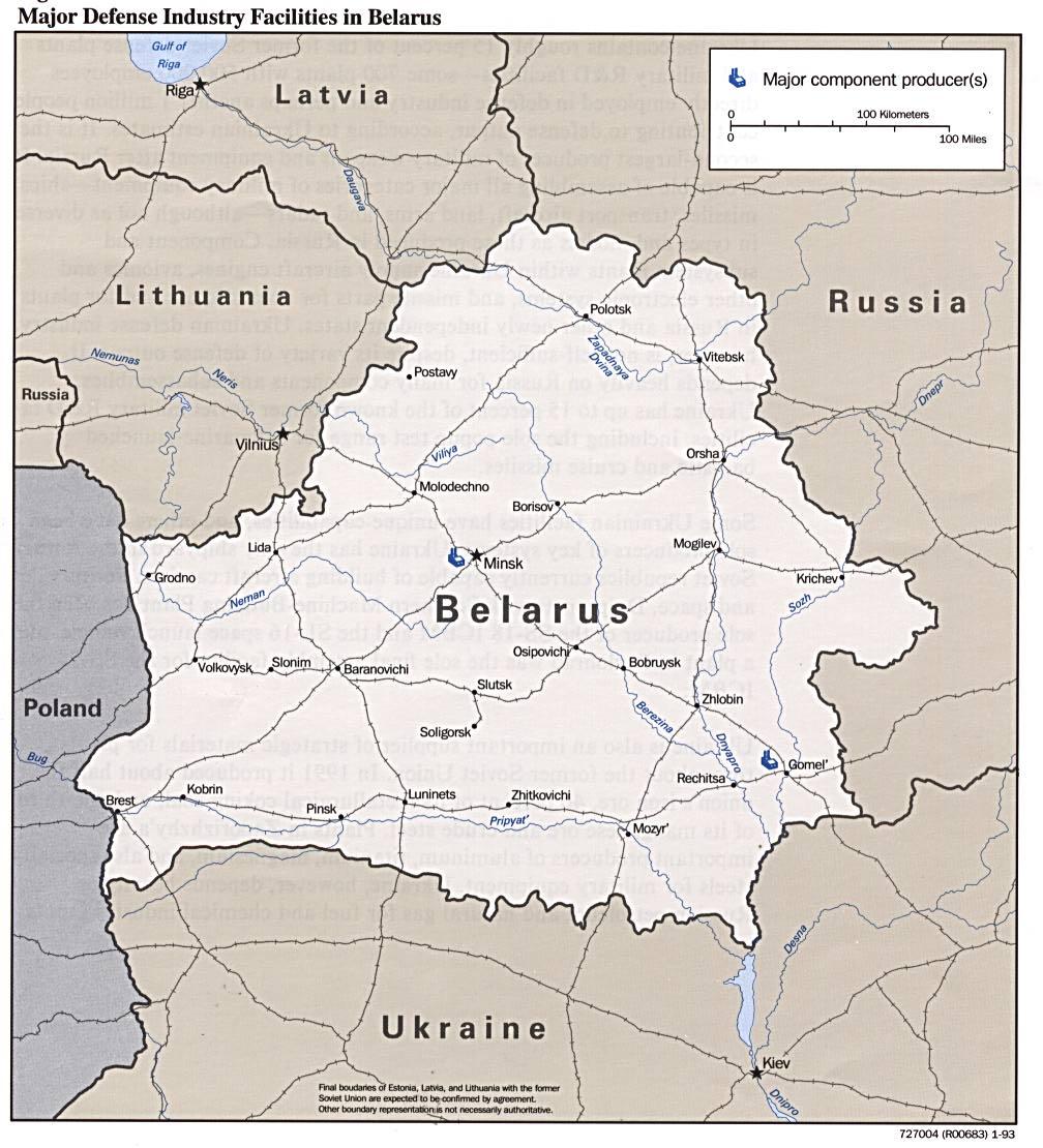 Belarus Maps PerryCastañeda Map Collection UT Library Online - Belarus map