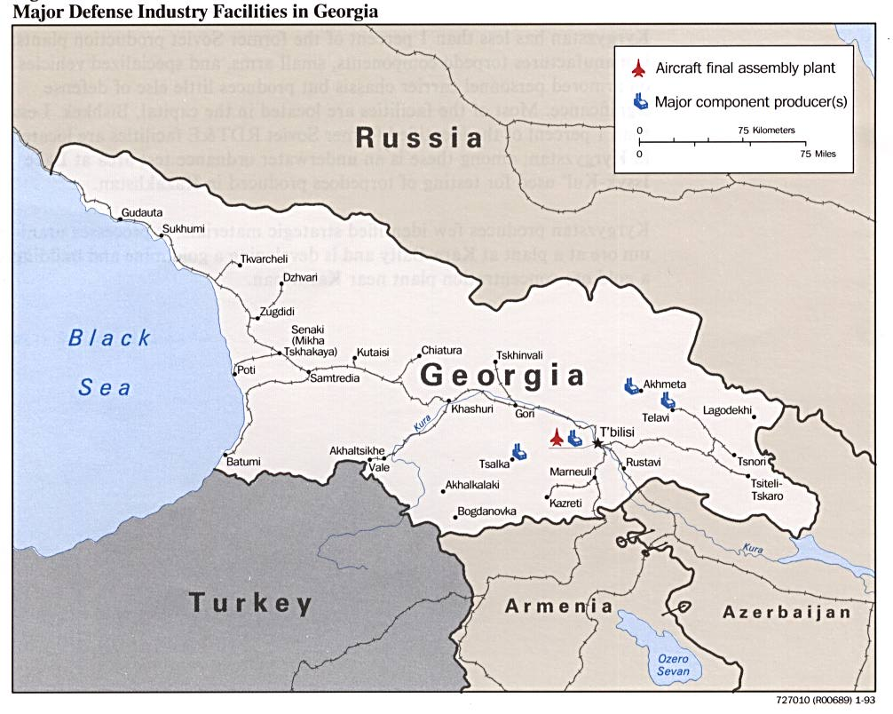 Georgia Republic Maps PerryCastañeda Map Collection UT - Georgia maps