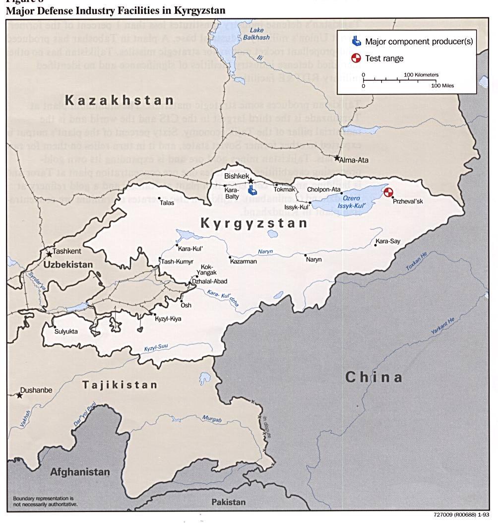The Tajikistan Update - Maps of Kyrgyzstan