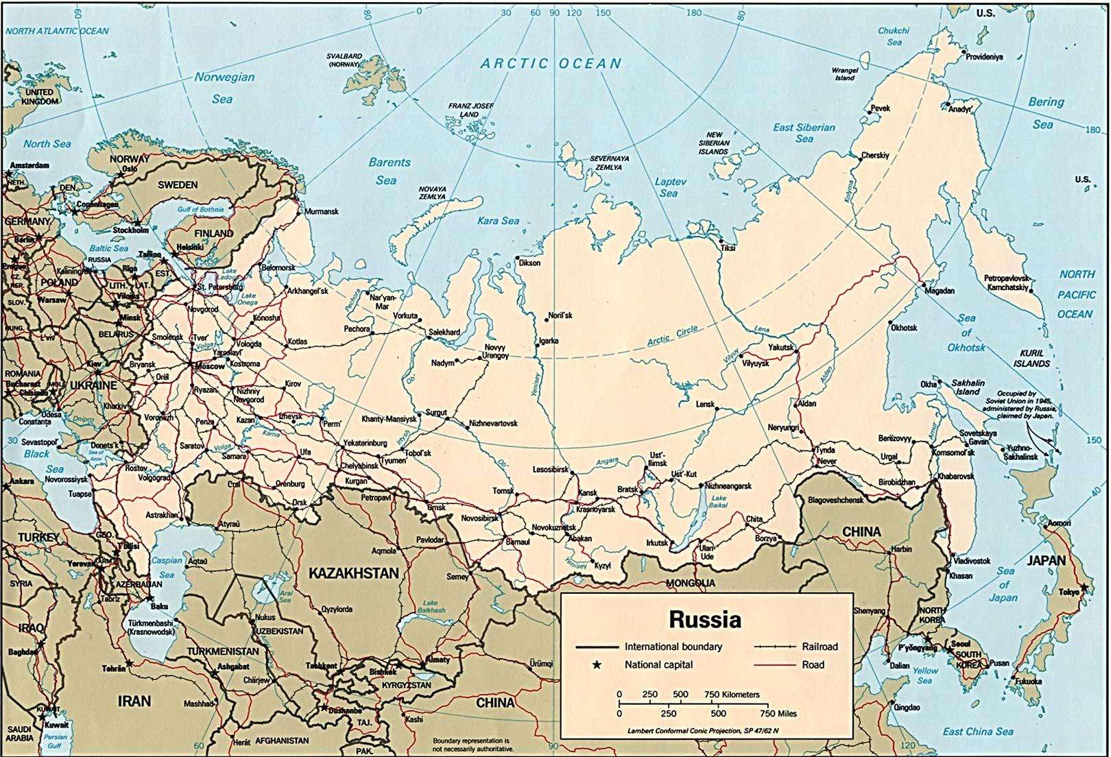 Tsarist Russia Map.Russia
