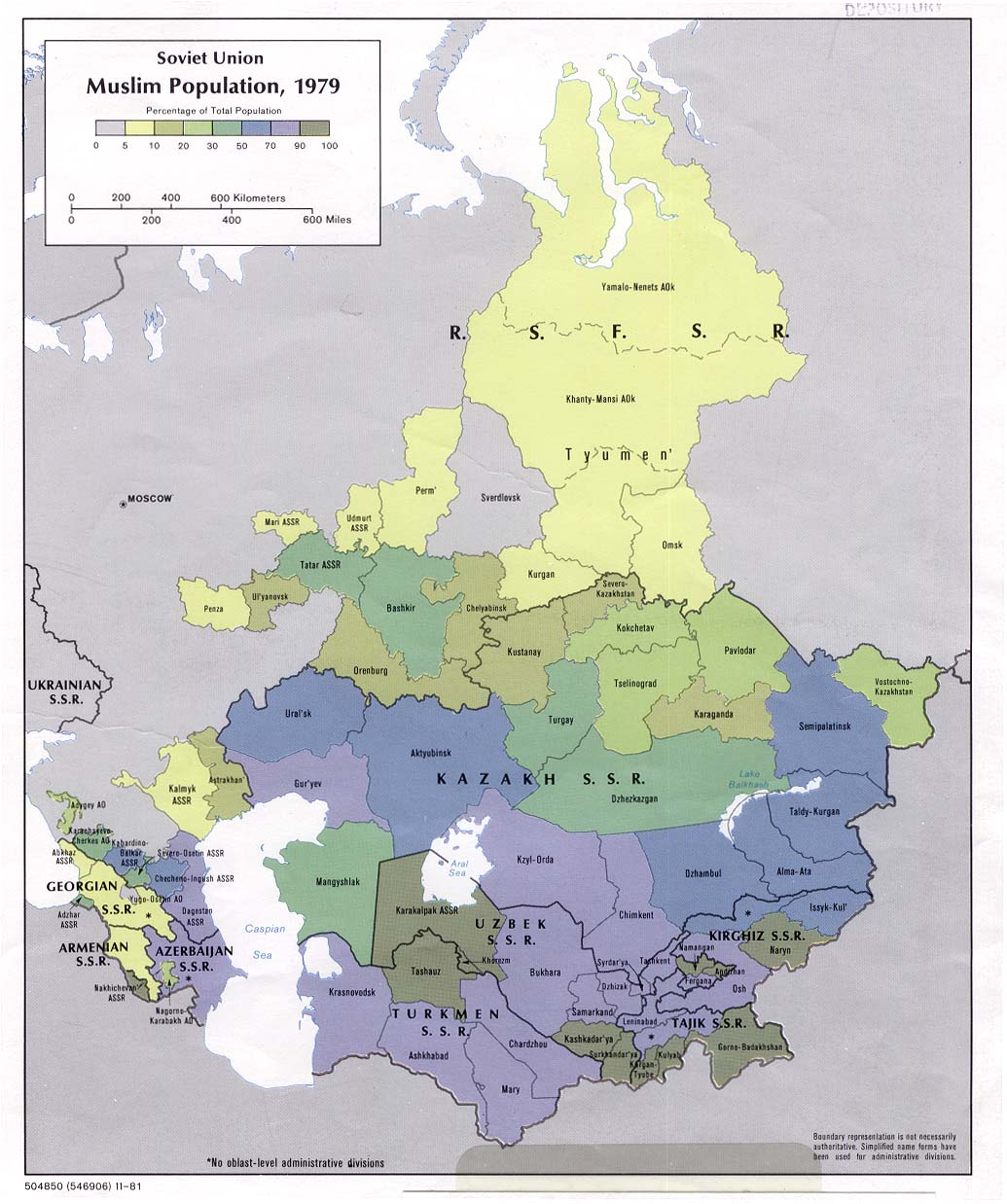 Russia and the Former Soviet Republics Maps - Perry
