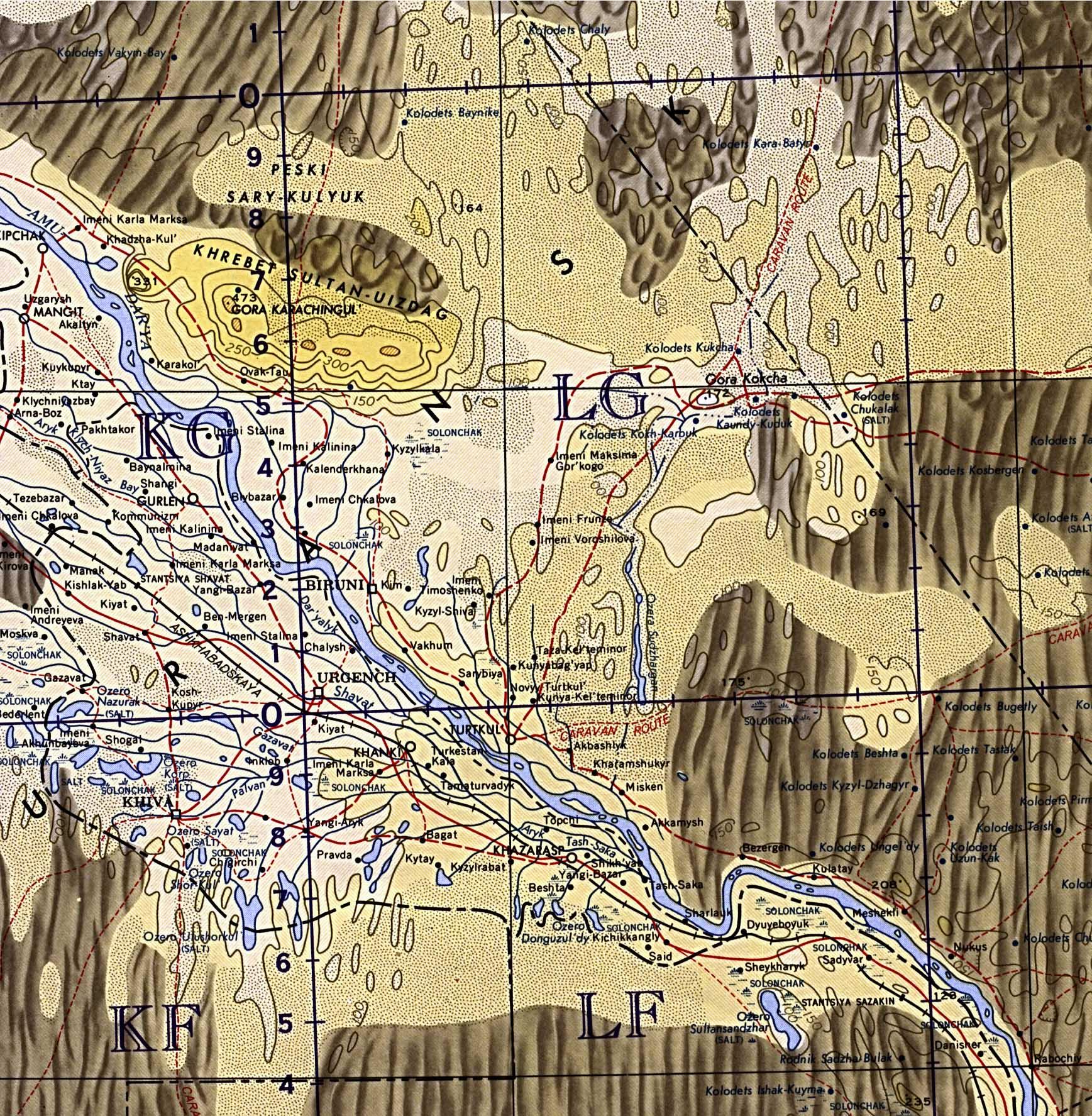 WWWVL History Index - Uzbekistan interactive map