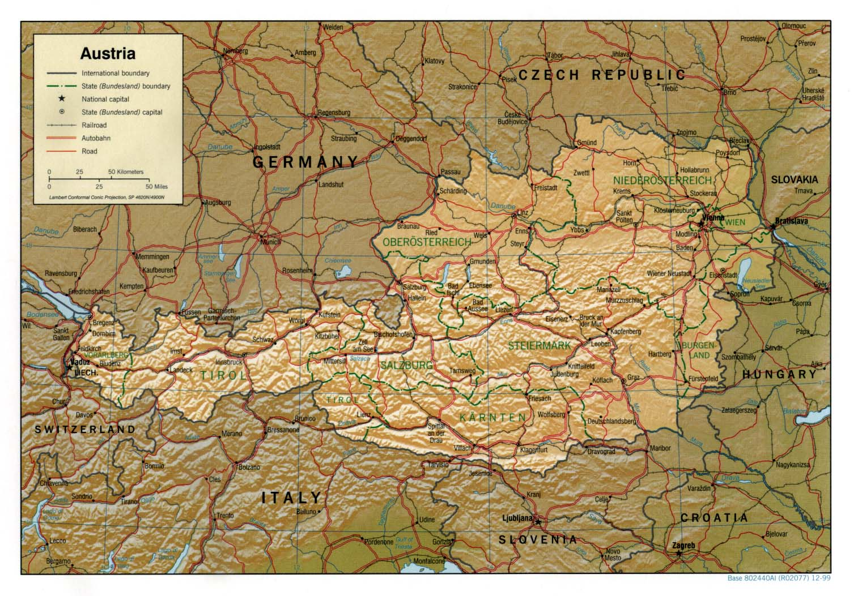 austria térkép Ausztria térkép lap   Megbízható válaszok profiktól austria térkép