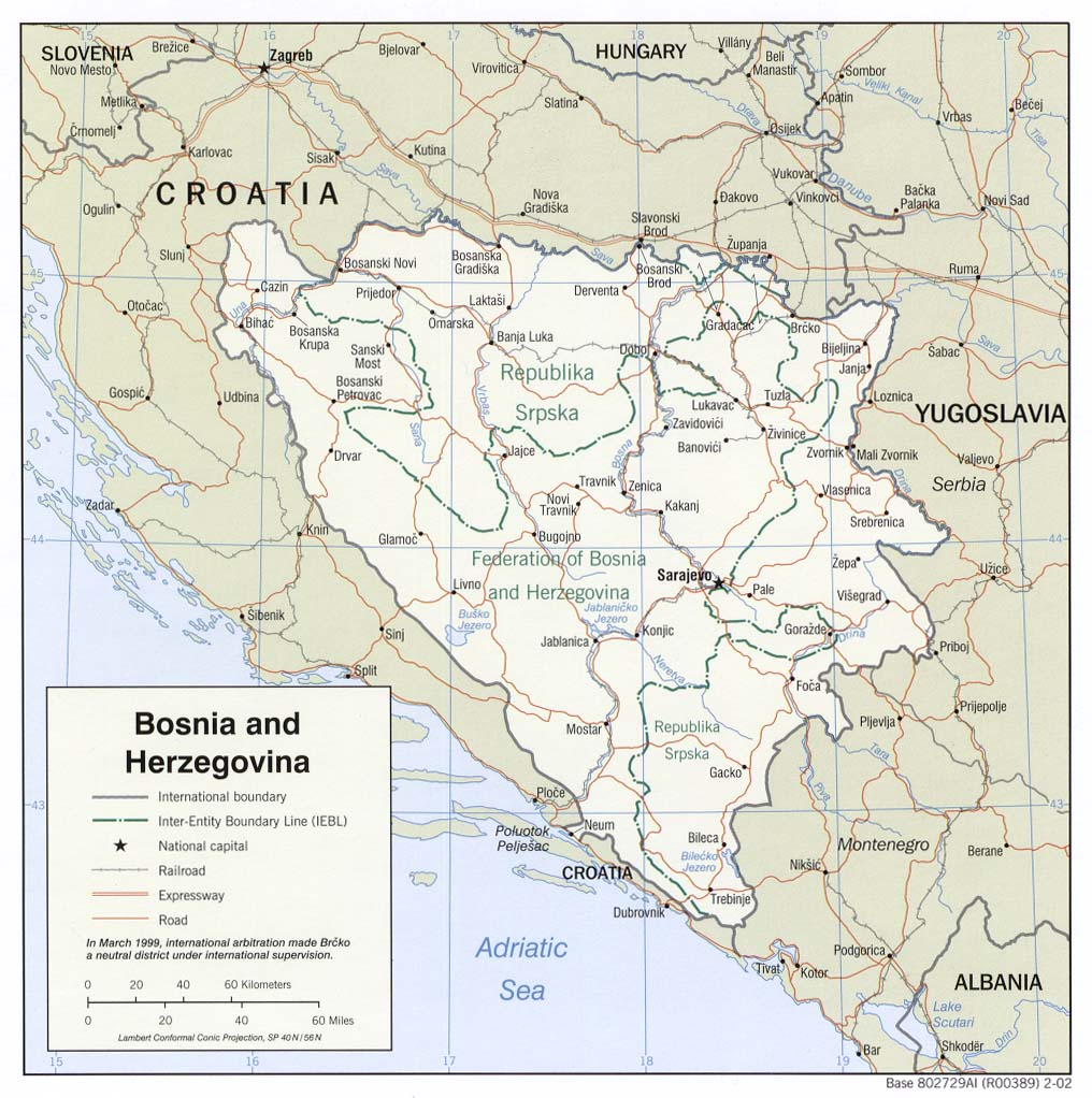 Bosnia Maps PerryCastaeda Map Collection UT Library Online