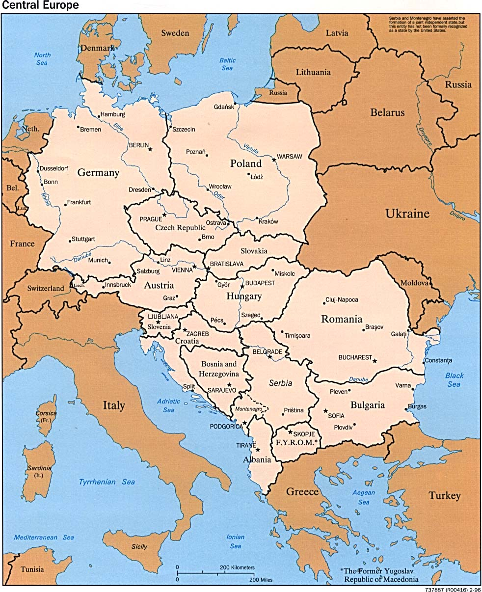Image of: Europe Map Maps