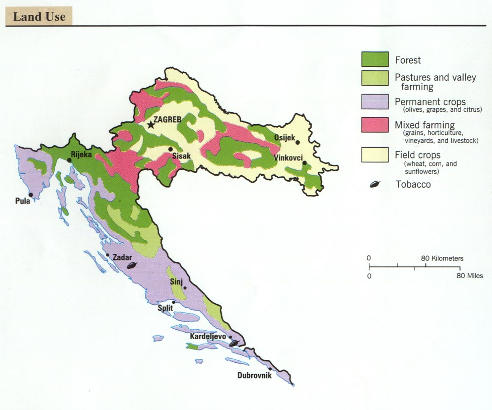 Croatia maps perry castaeda map collection ut library online croatia maps gumiabroncs Images