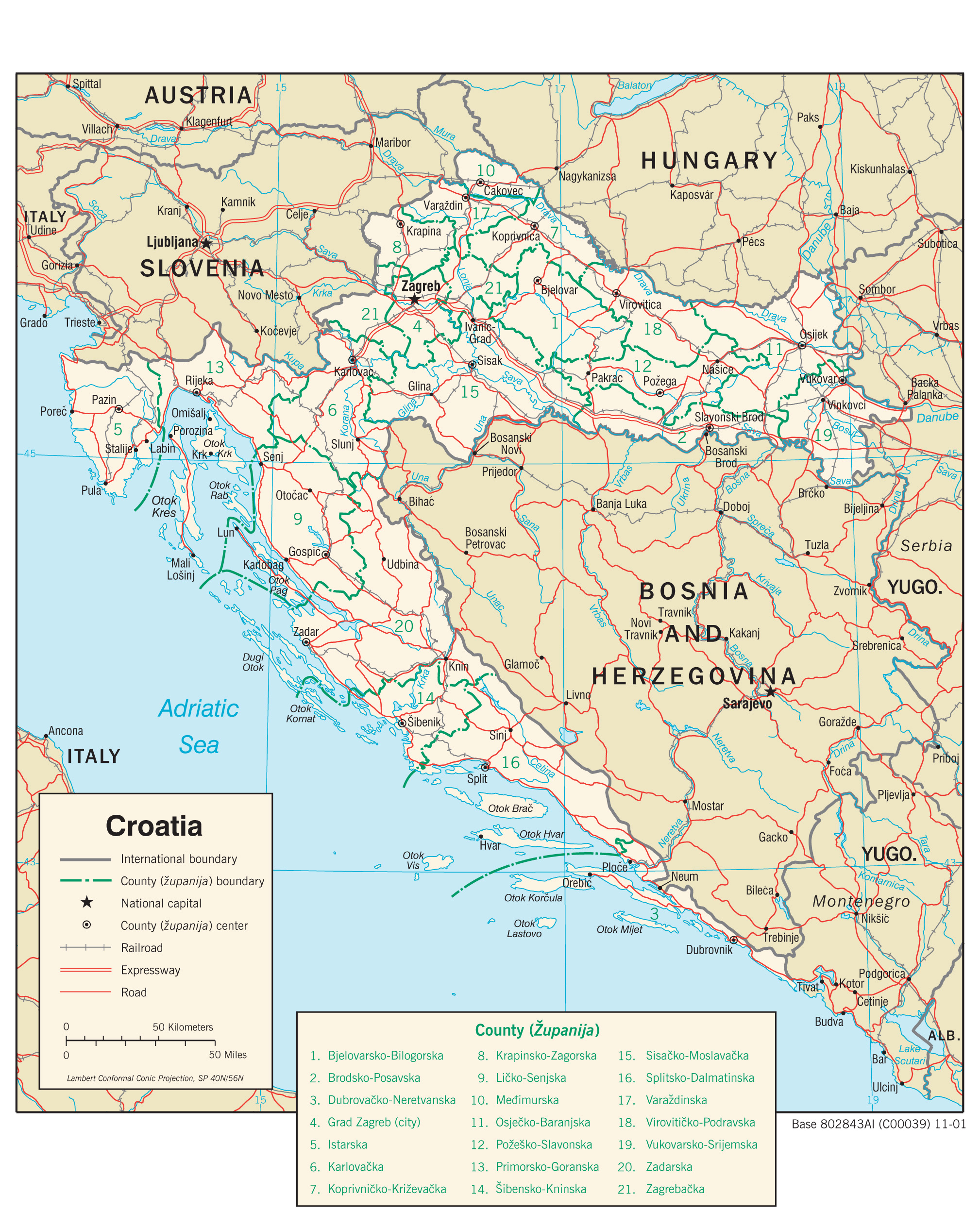 Croatia Maps PerryCastañeda Map Collection UT Library Online - Pictures of maps