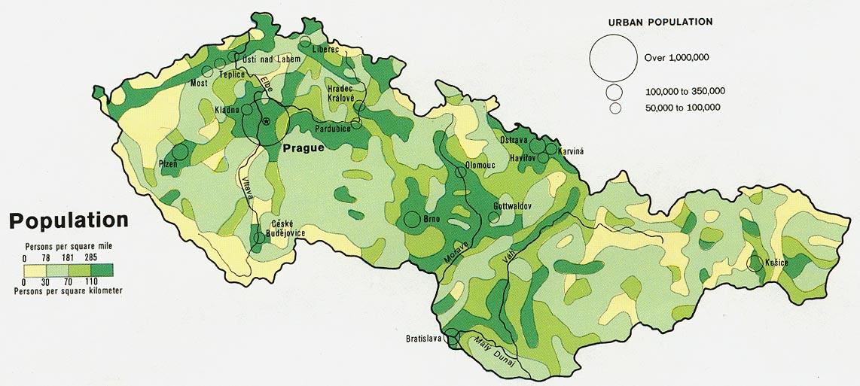 Czech Republic Maps PerryCastañeda Map Collection UT Library - Czech republic map