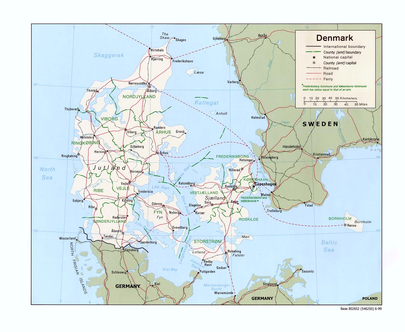Denmark Maps - Perry-Castañeda Map Collection - UT Liry Online on