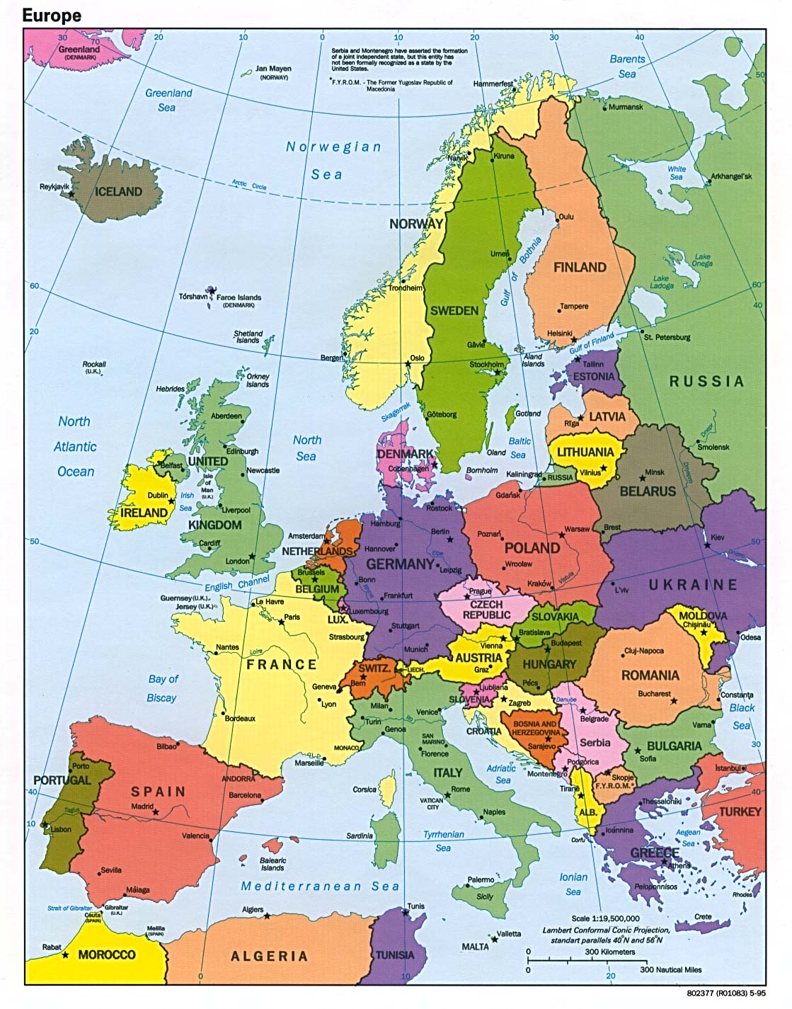 europe (political)  (k) jpeg format . europe maps  perrycastañeda map collection  ut library online