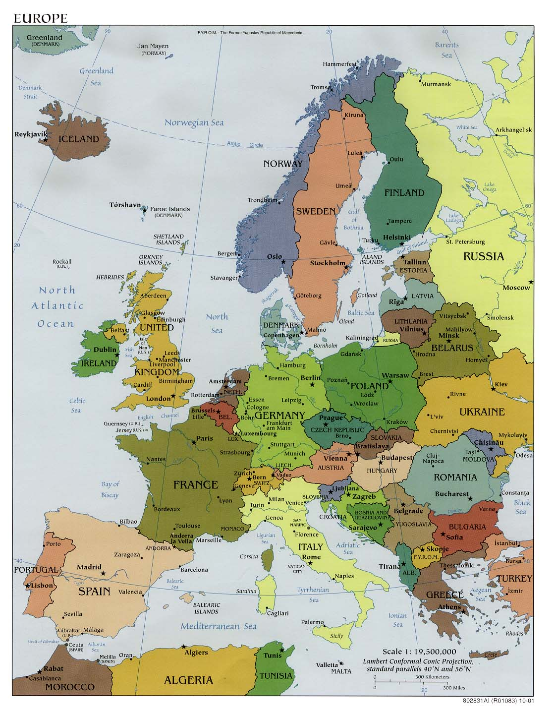Europe Maps PerryCastañeda Map Collection UT Library Online - Belgium political map 2001