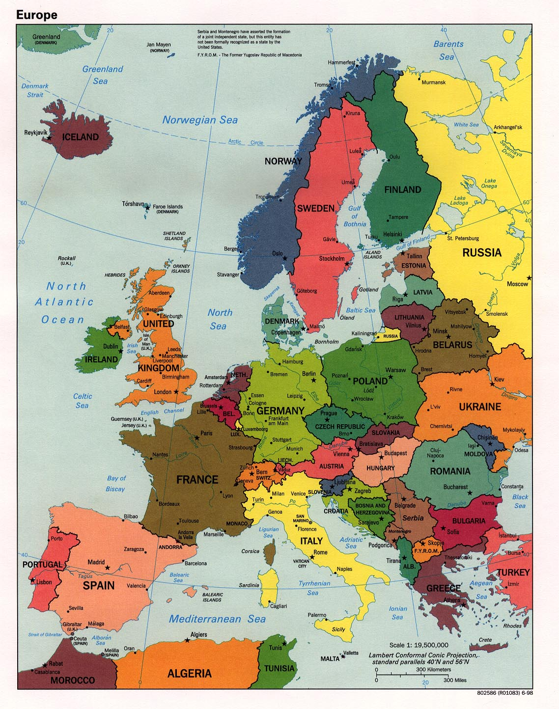 Europe Maps   Perry Castañeda Map Collection   UT Library Online