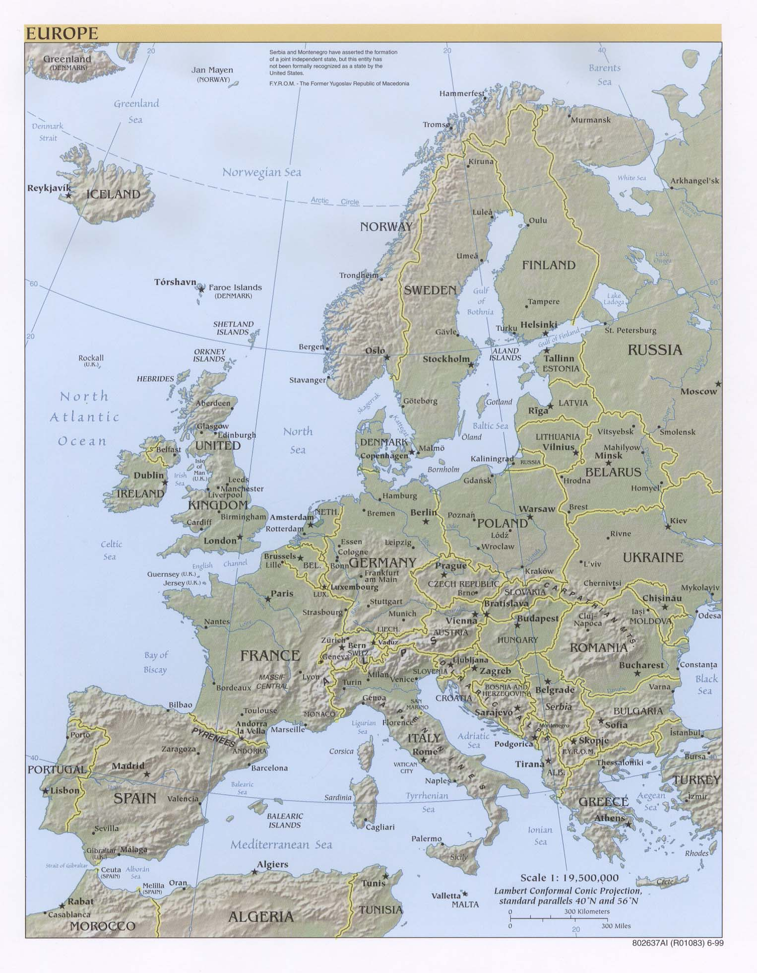 Europe Maps PerryCastaeda Map Collection UT Library Online