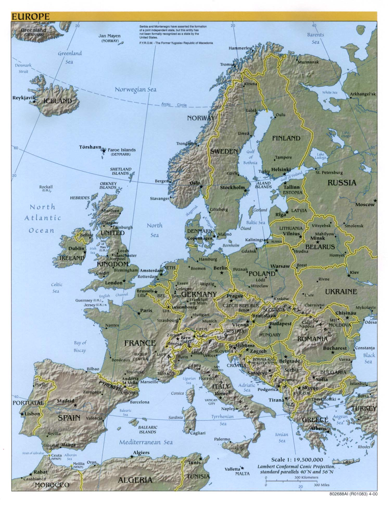 Europe maps perry castaeda map collection ut library online publicscrutiny Image collections