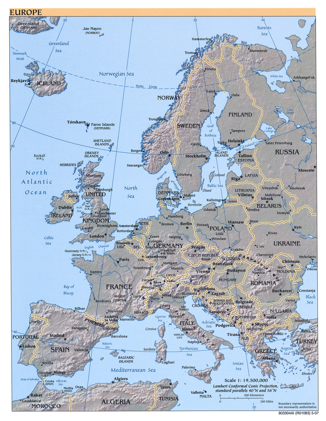 Map Of Europe And The Uk.Europe Maps Perry Castaneda Map Collection Ut Library Online