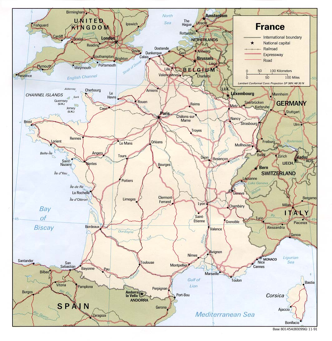 La France Map.France Maps Perry Castaneda Map Collection Ut Library Online