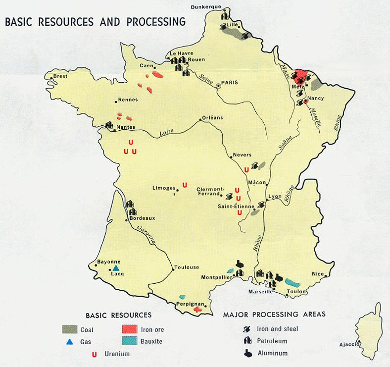 Natural Resource Map